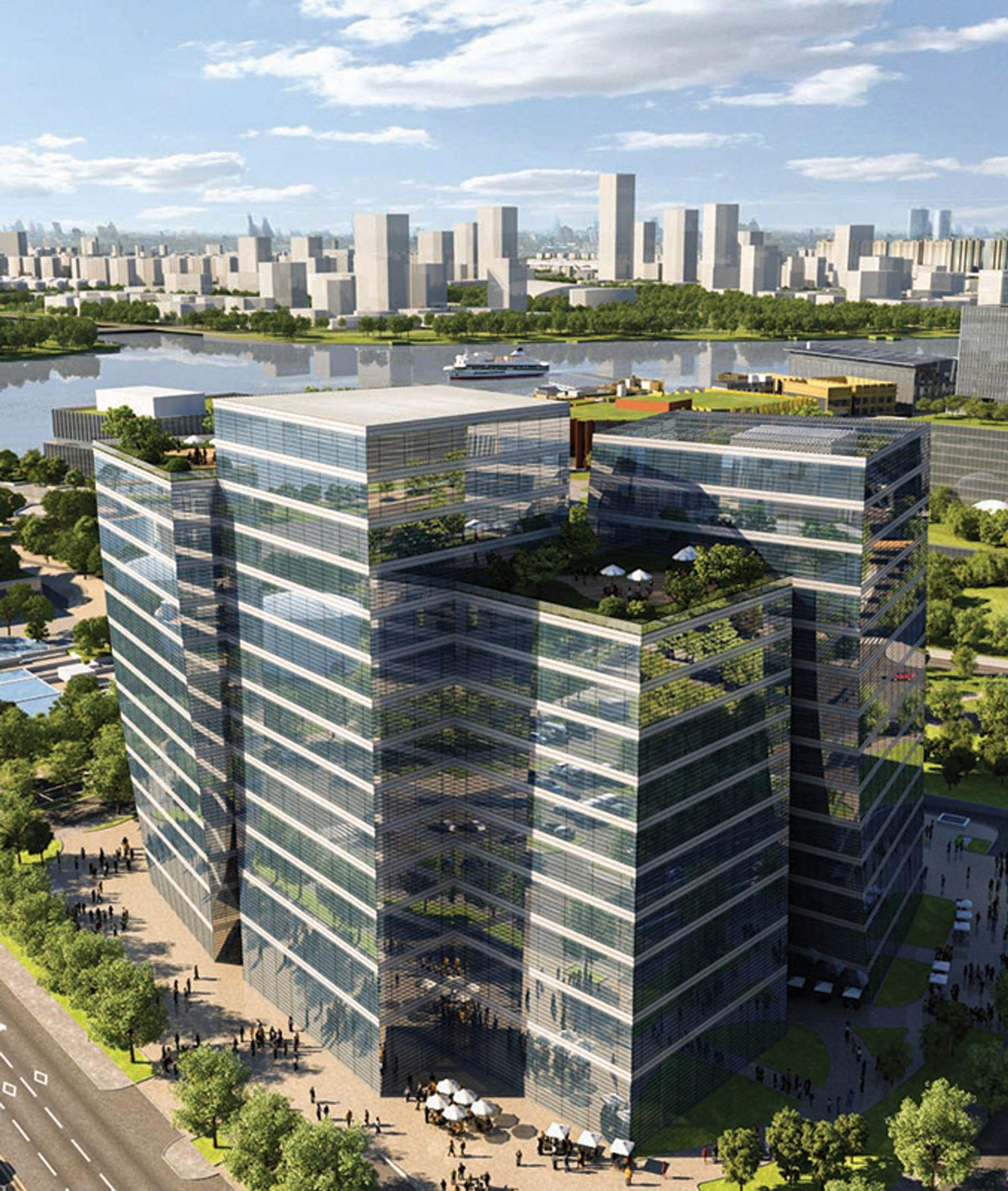 Shanghai's new Art Tower in West Bund aims to house 20 international galleries