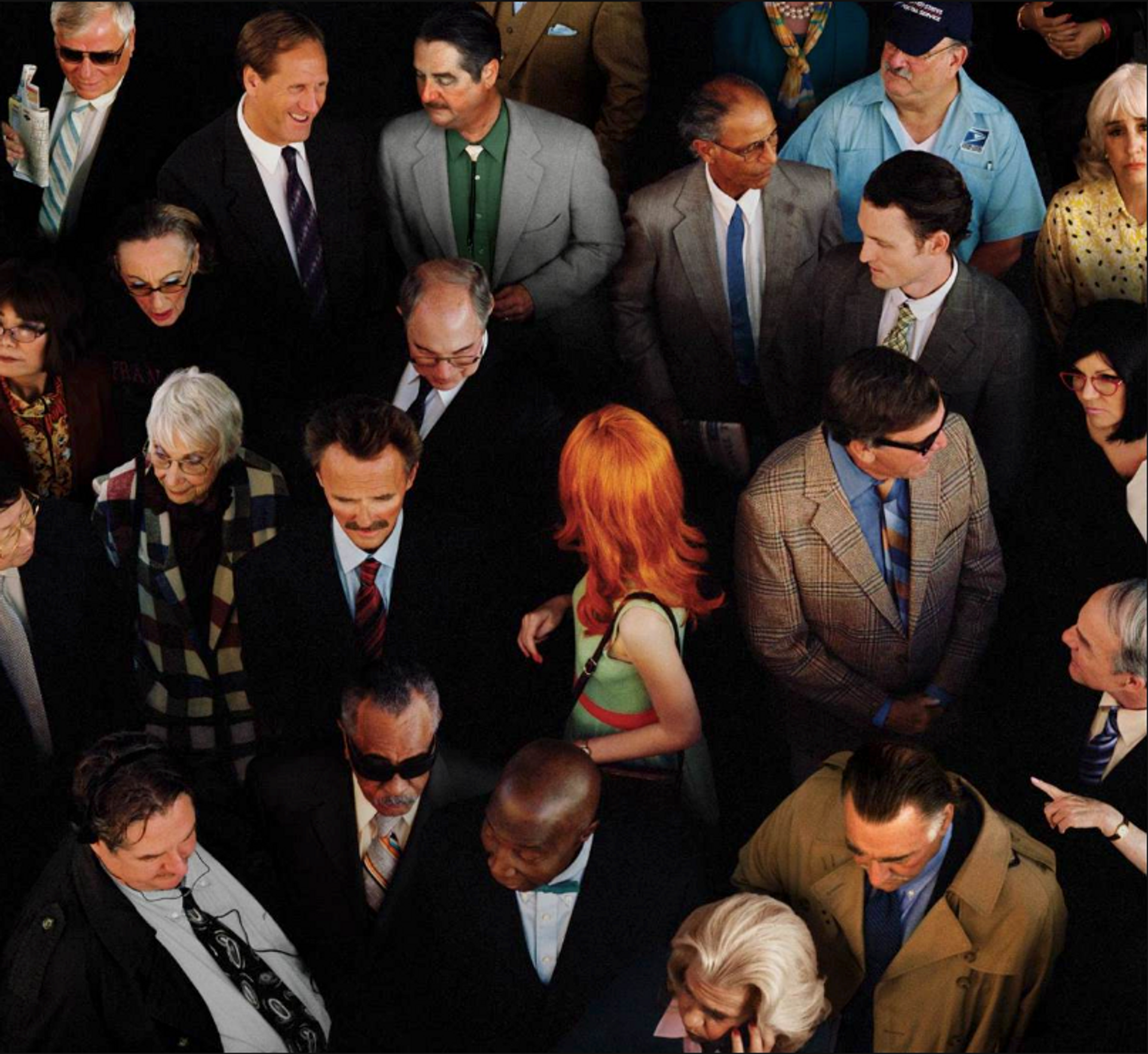 Alex Prager's Hollywood & Vine (2014) is part of the exhibition In Production: Art and the Studio System Collection of the Yuz Foundation. Courtesy of Alex Prager Studio and Lehmann Maupin, New York, Hong Kong and Seoul