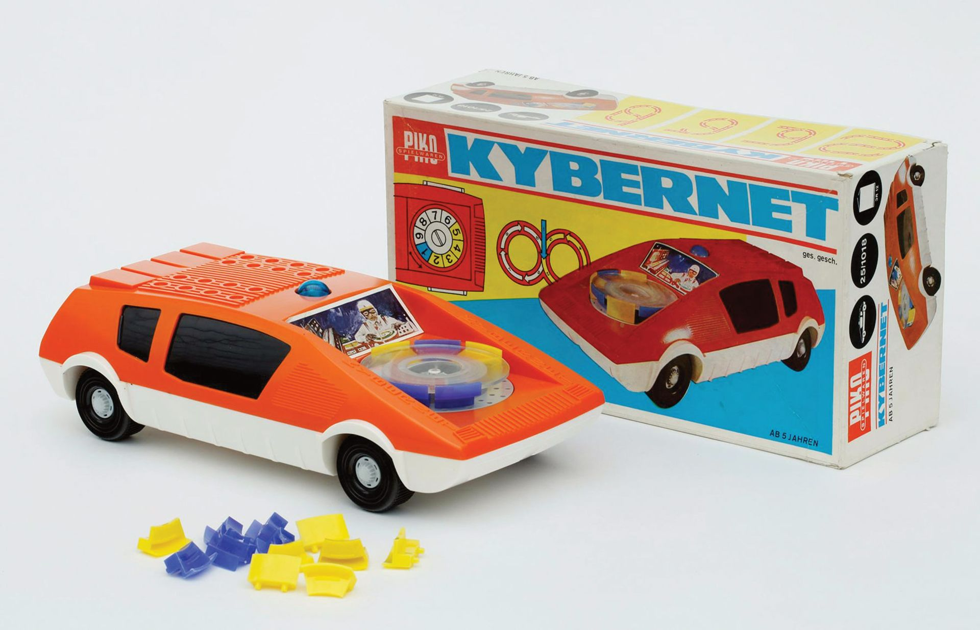 Cybernet toy car (1974) by VEB Piko Sonneberg © Die Neue Sammlung—The Design Museum/A. Laurenzo; Courtesy of the J. Paul Getty Trust
