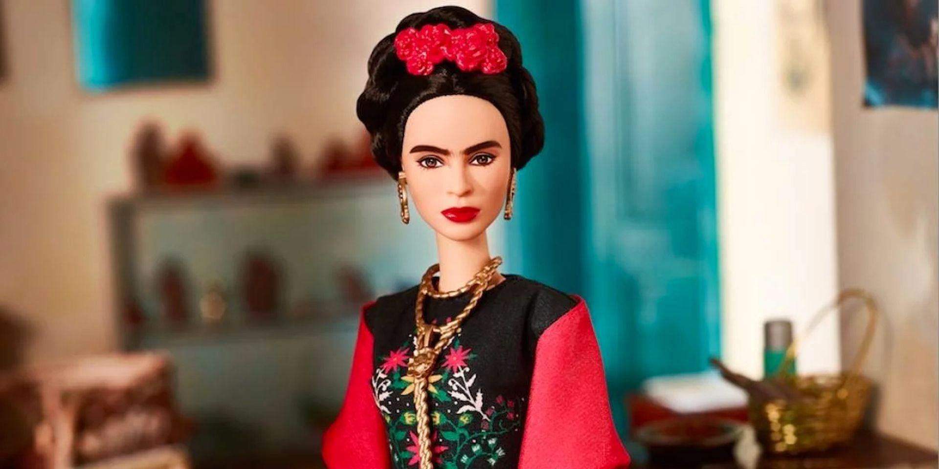 The Frida Kahlo Barbie Photo: Courtesy of Mattel