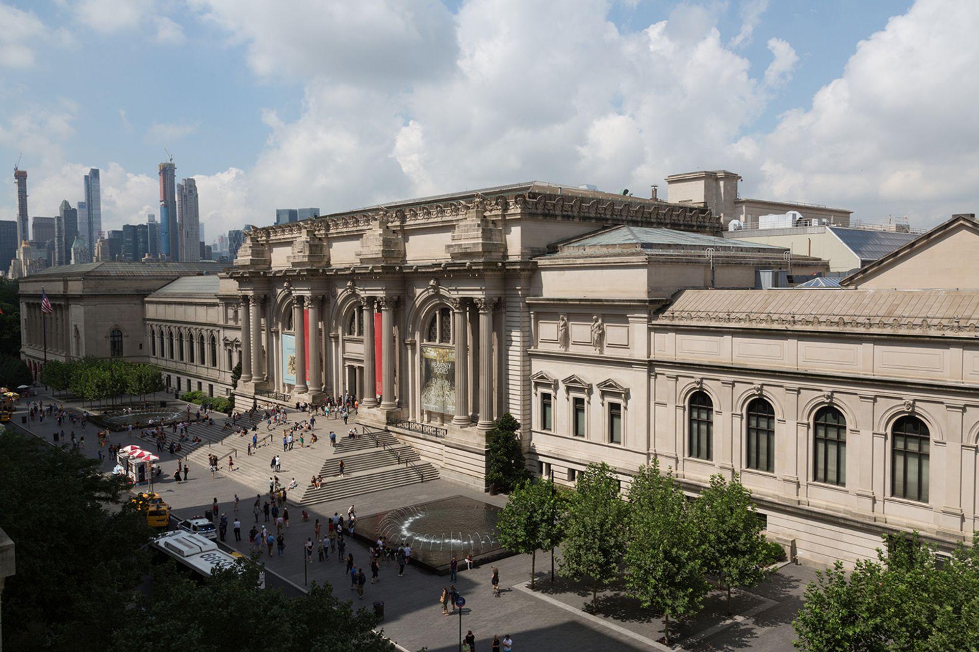 The Metropolitan Museum of Art in New York Courtesy of the Metropolitan Museum of Art