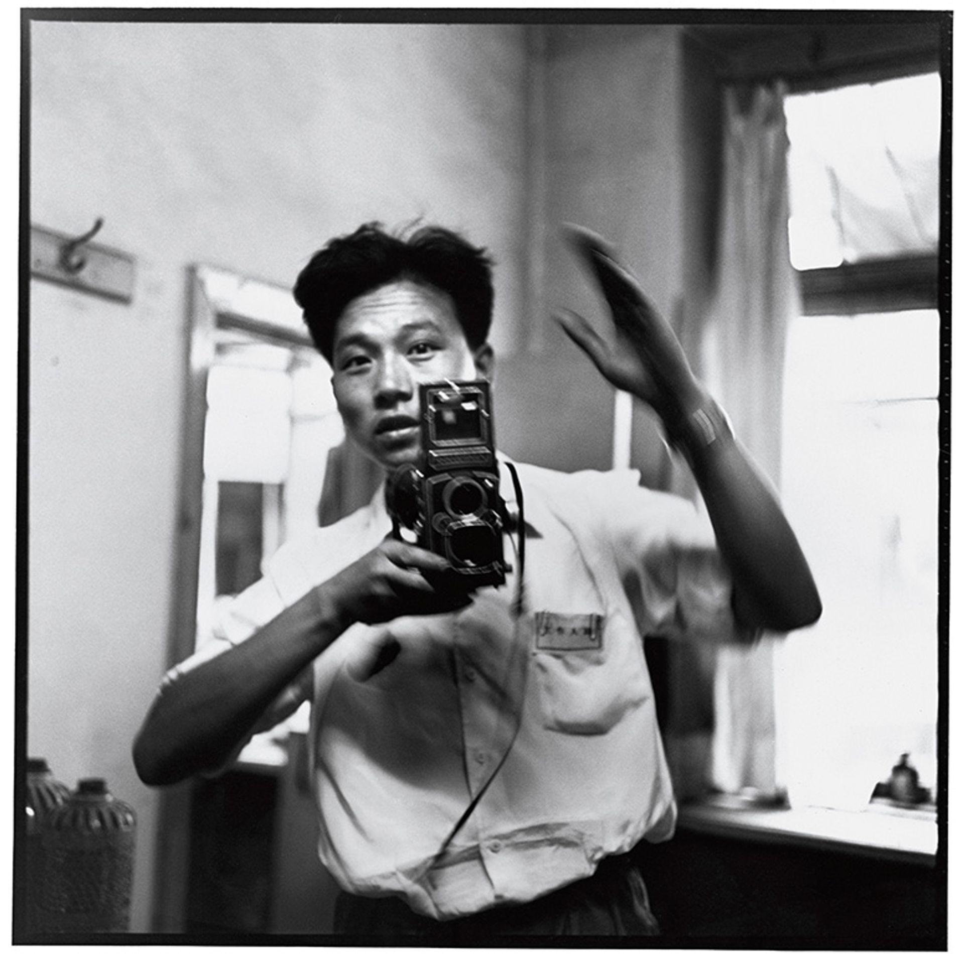 Self-portrait in the mirror, Harbin, July 1967 Credit: Li Zhensheng/Contact Press Images