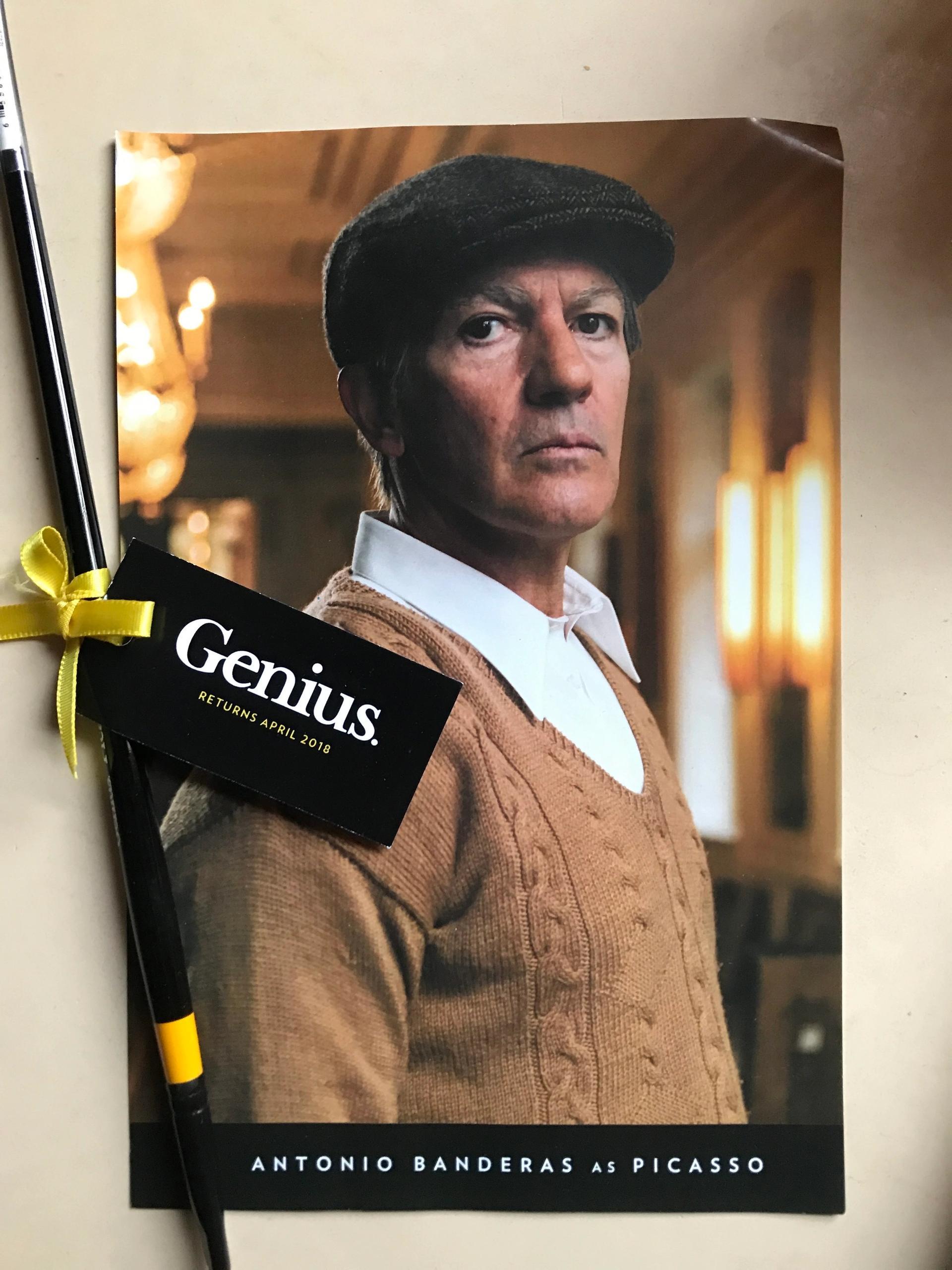 Antonio Banderas in National Geographic's Genius Picasso Gareth Harris