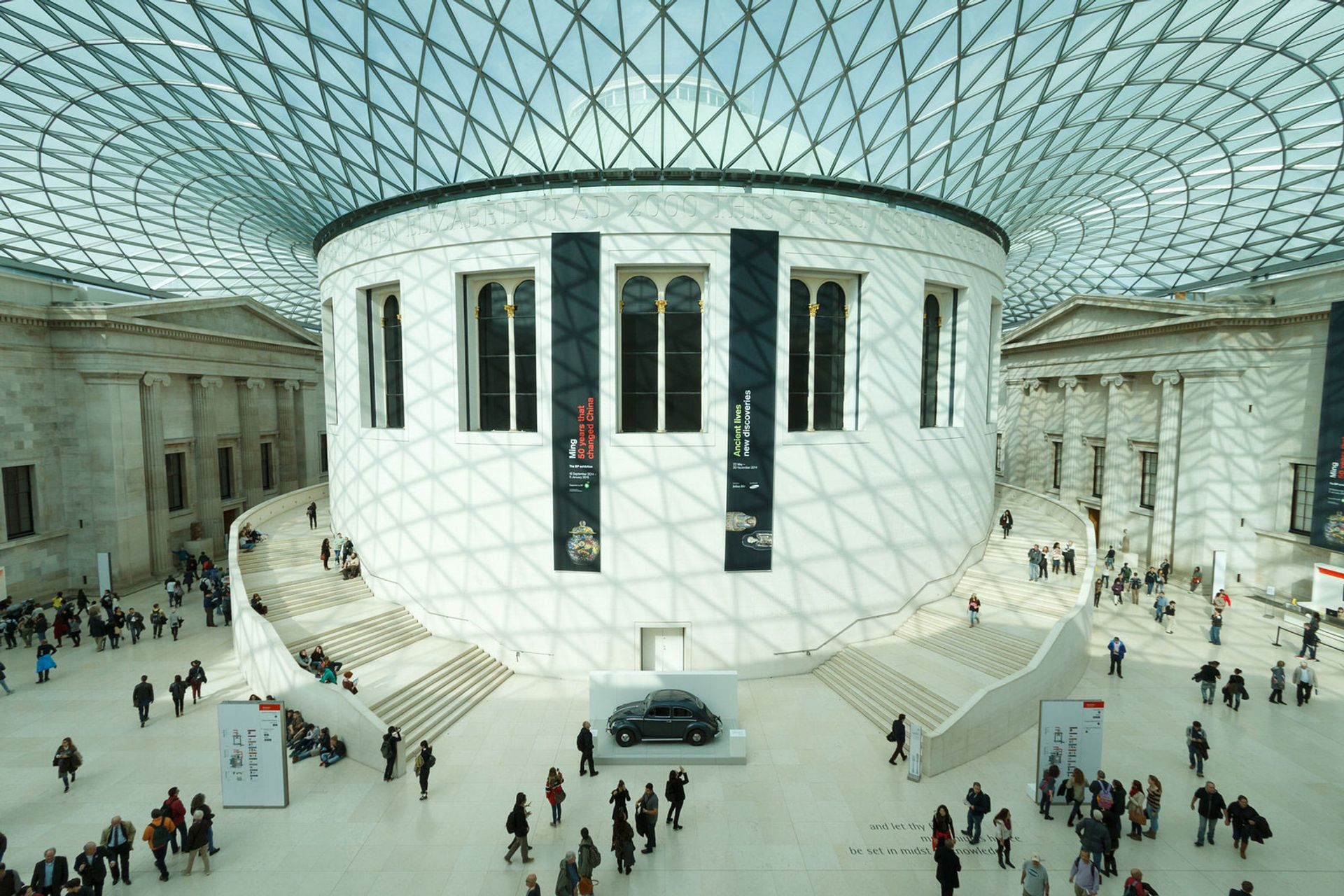Fischer described BP's support as vital to the British Museum's mission p&p photo
