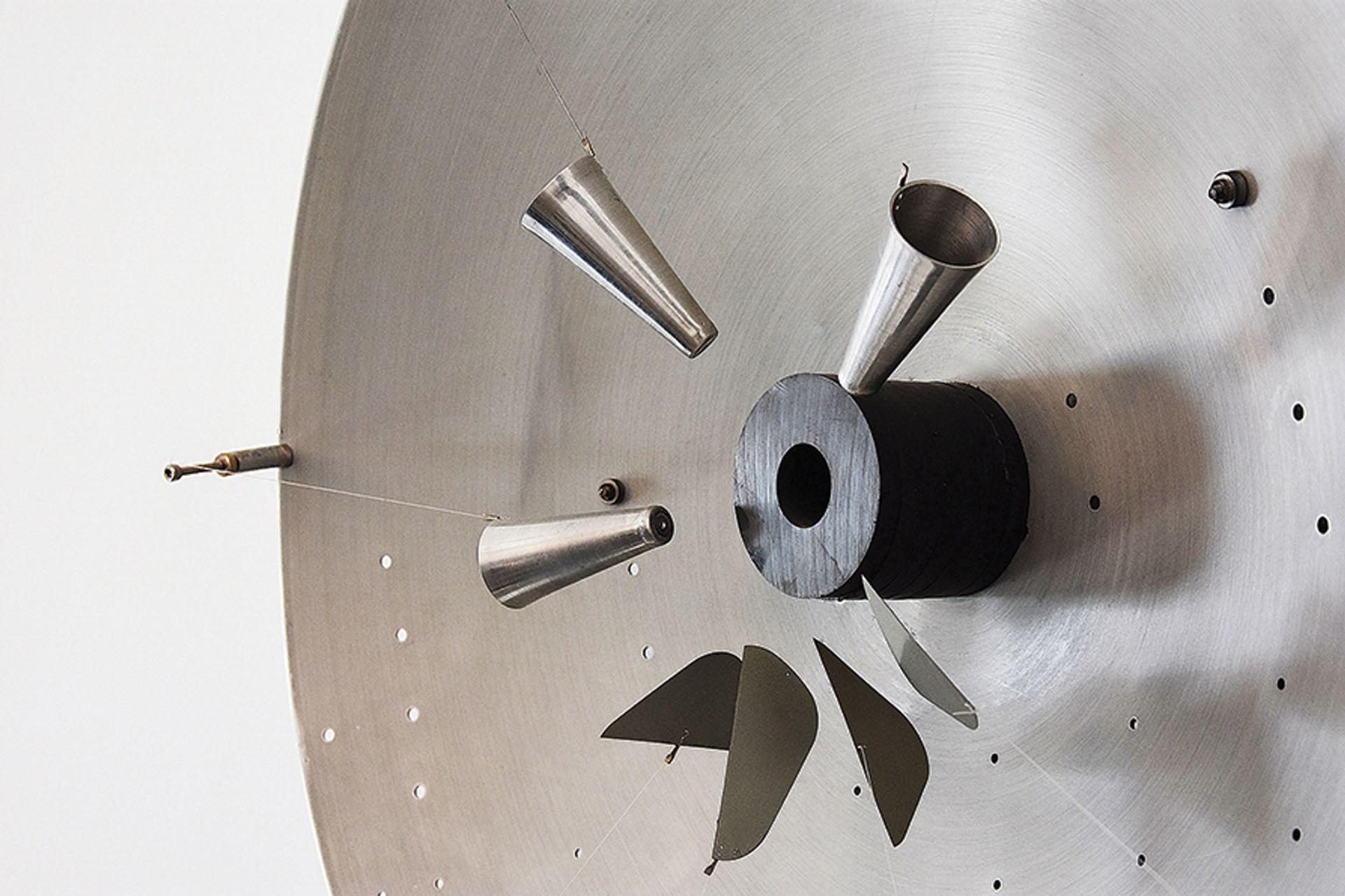 Radar (1960) demonstrates Takis's fascination with magnetics Photo: Fay Zervos, © ADAGP, Paris and DACS