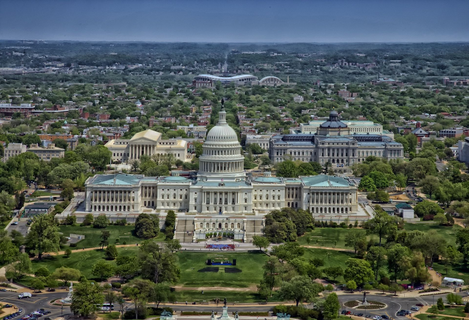 Now that the bills for the new museums has been approved organisers say that each institution could potentially be built on or near the National Mall in Washington, DC