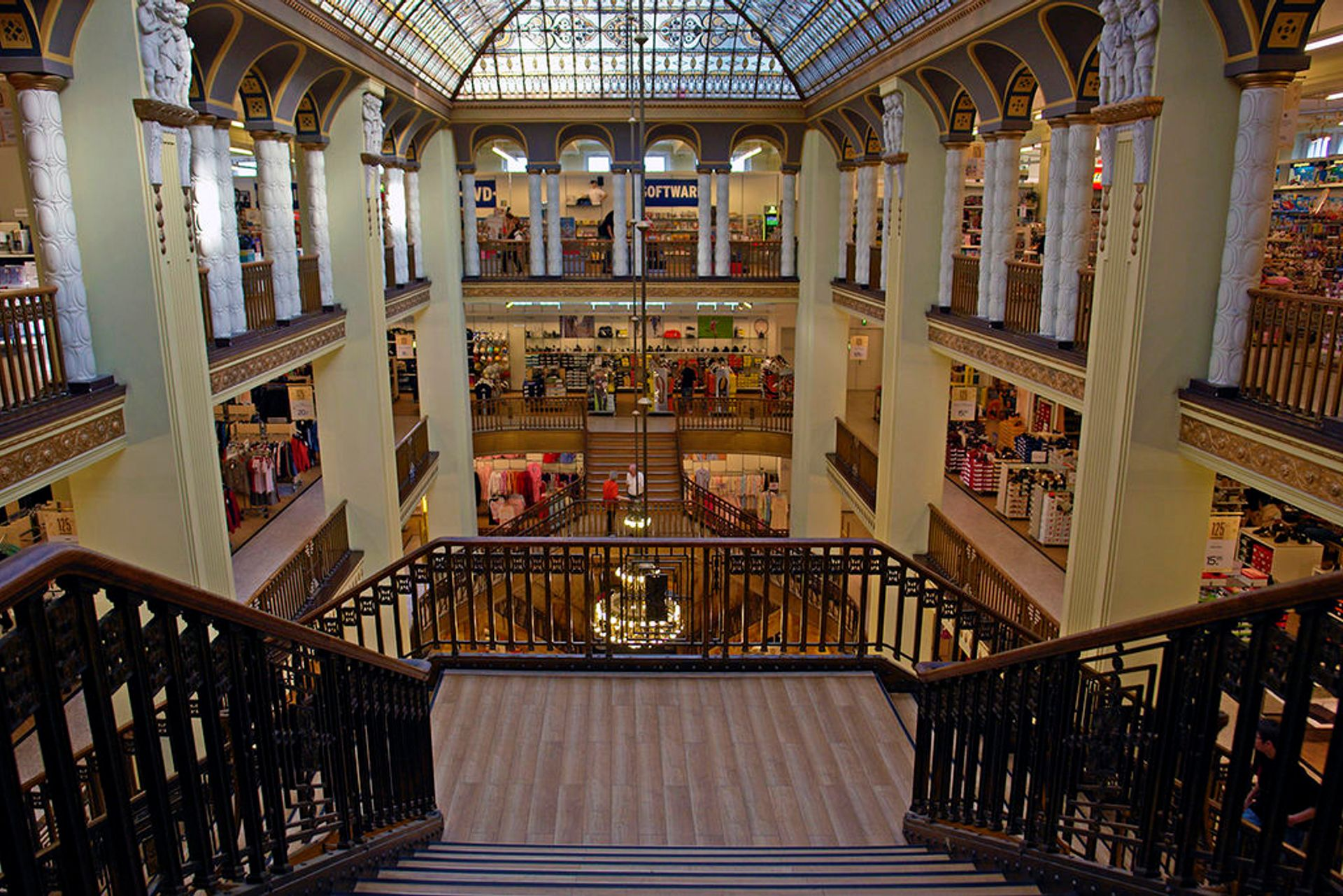 An abandoned department store in Görlitz that was the set for the film The Grand Budapest Hotel will be renovated with the new funds for cultural projects in Germany Hans Peter Schaefer via Wikimedia