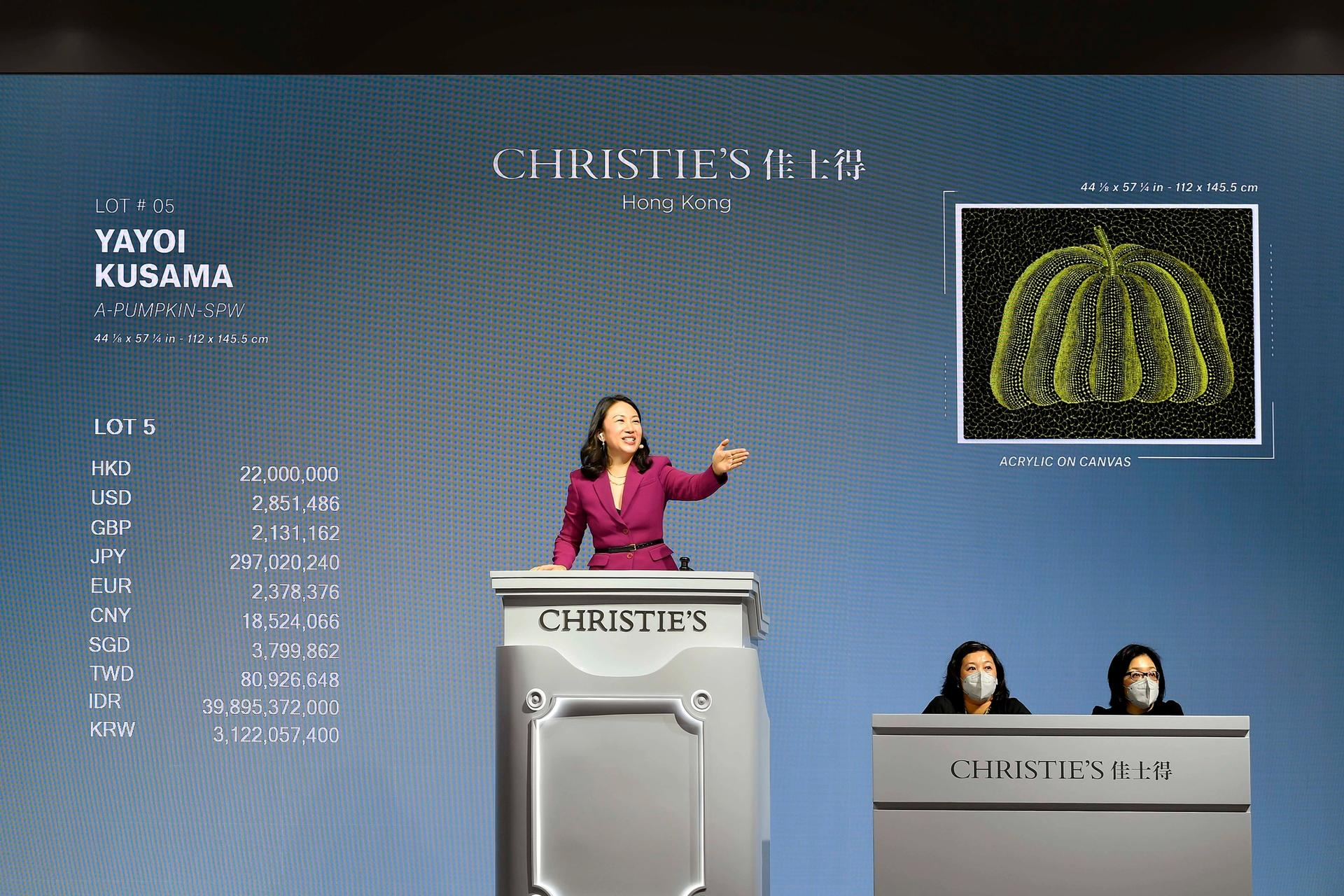 Christie's Hong Kong to New York sale achieved US$119.2m Courtesy of Christie's