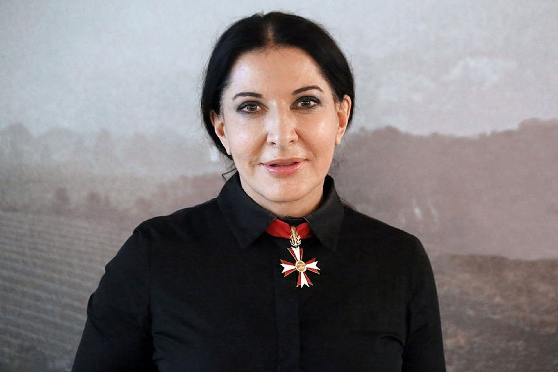 Marina Abramovic was not injured at the event © Manfred Werner/Tsui