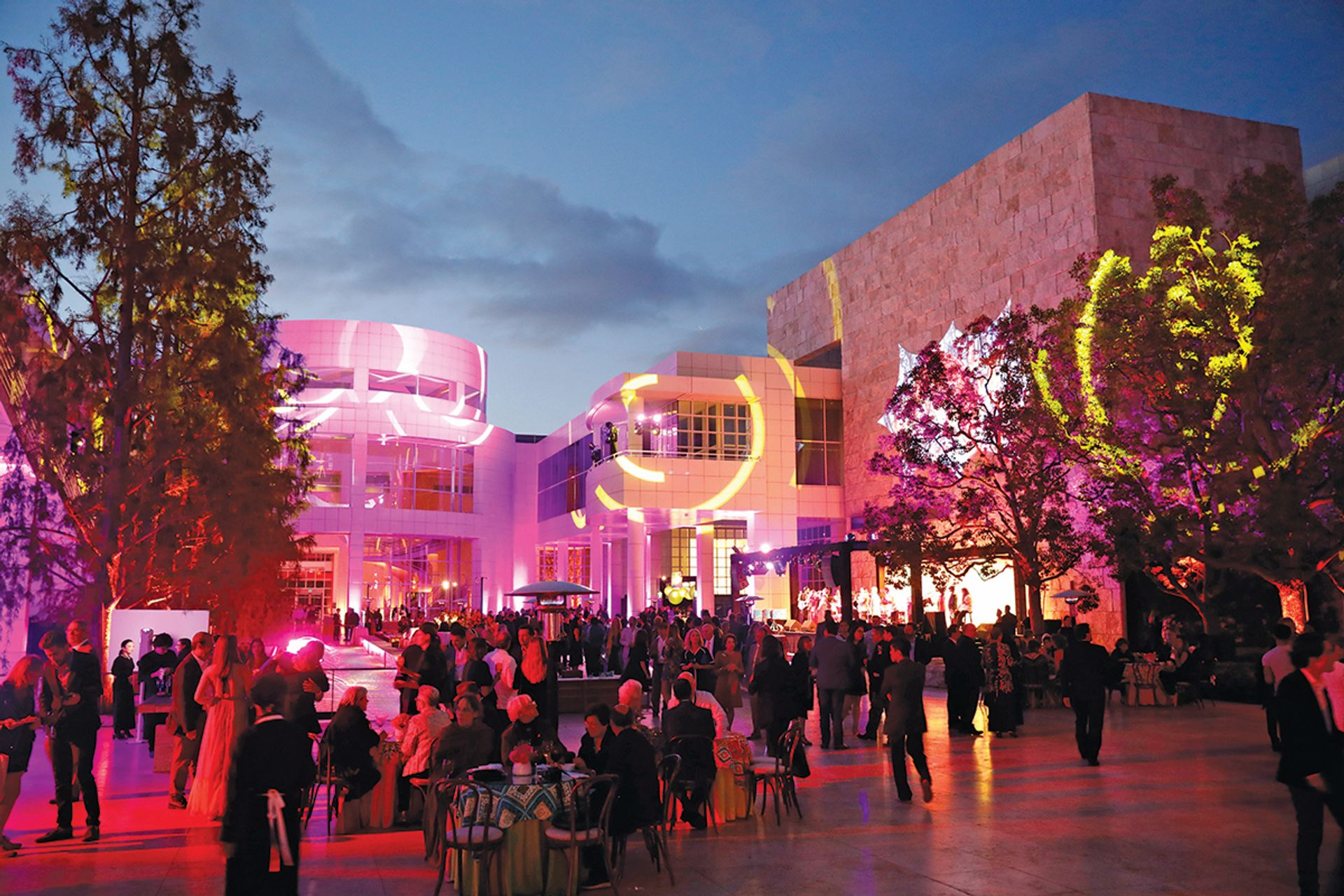 The opening of the Pacific Standard Time:  LA/LA festival at the Getty Museum in September 2017 Courtesy of the Getty Center; photo: Ryan Miller/Capture Imaging