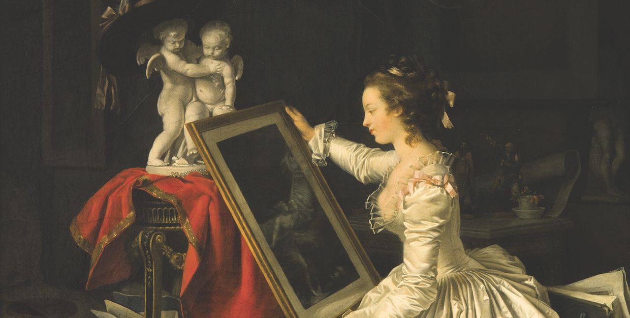 The Musée du Louvre has acquired The Interesting Student (around 1786) by Marguerite Gérard and Jean-Honoré Fragonard © Sotheby's/ArtDigital Studio