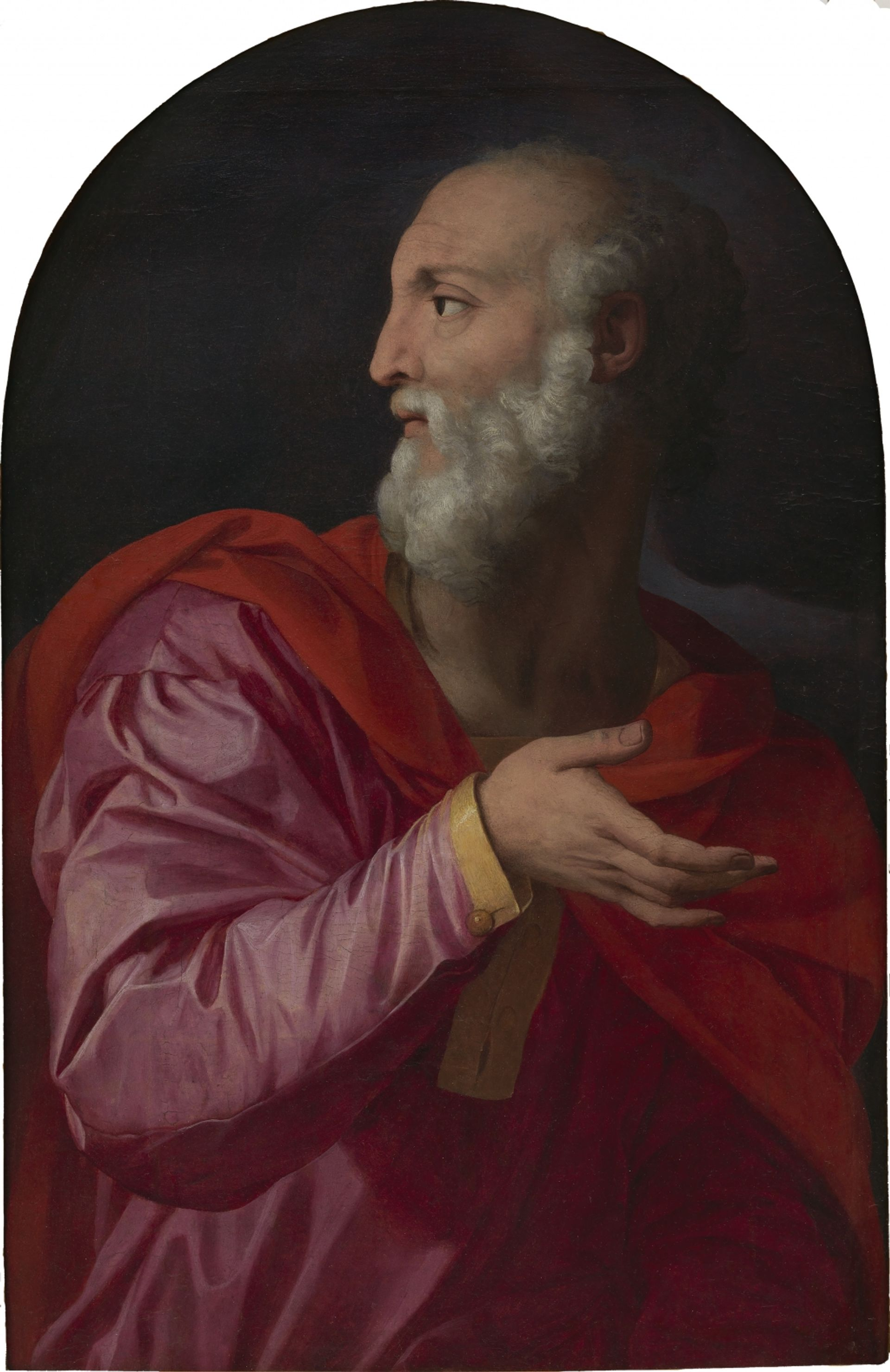 Saint Cosmas, attributed to Agnolo di Cosimo, better known as Bronzino. Courtesy of the Alana Collection