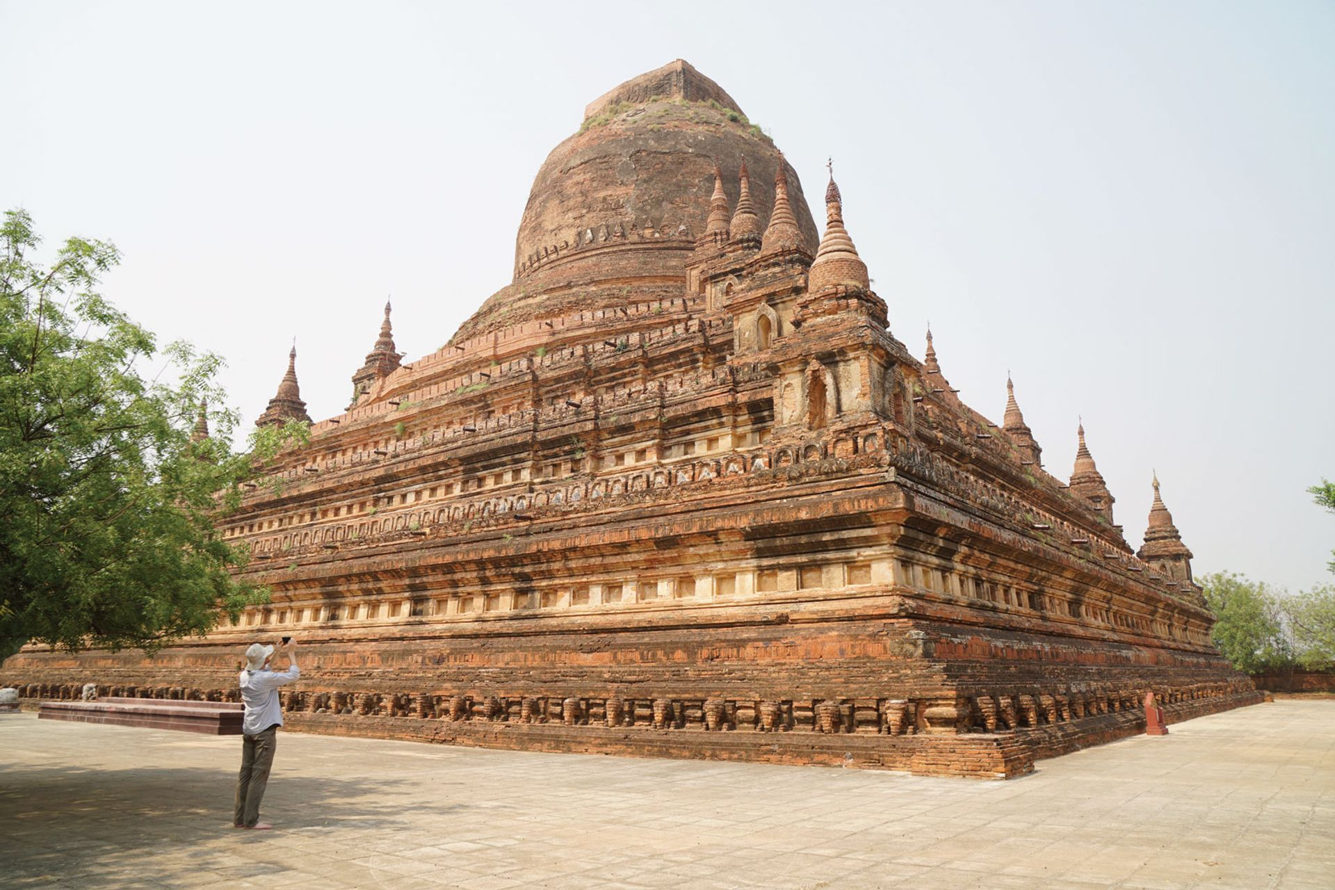 More than 3,600 Buddhist temples in the Getty'sBagan Conservation Project in Myanmar (pictured: Sitana Gyi Hpaya) have been at risk of looting Courtesy of the J. Paul Getty Trust