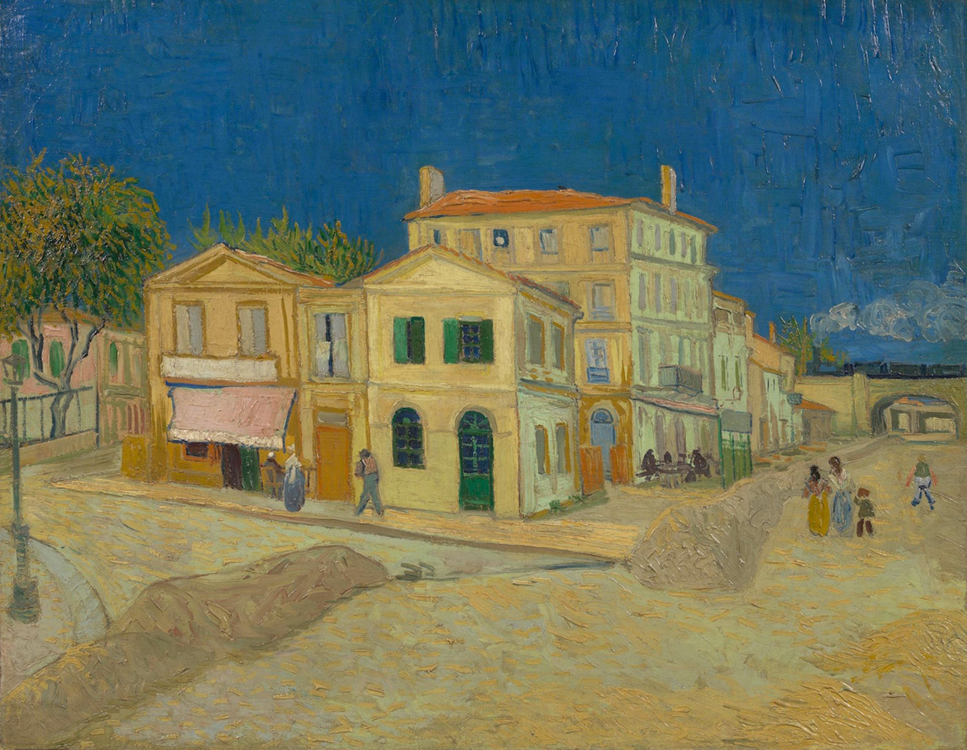 Vincent van Gogh, The Yellow House, September 1888 Van Gogh Museum, Amsterdam (Vincent van Gogh Foundation)