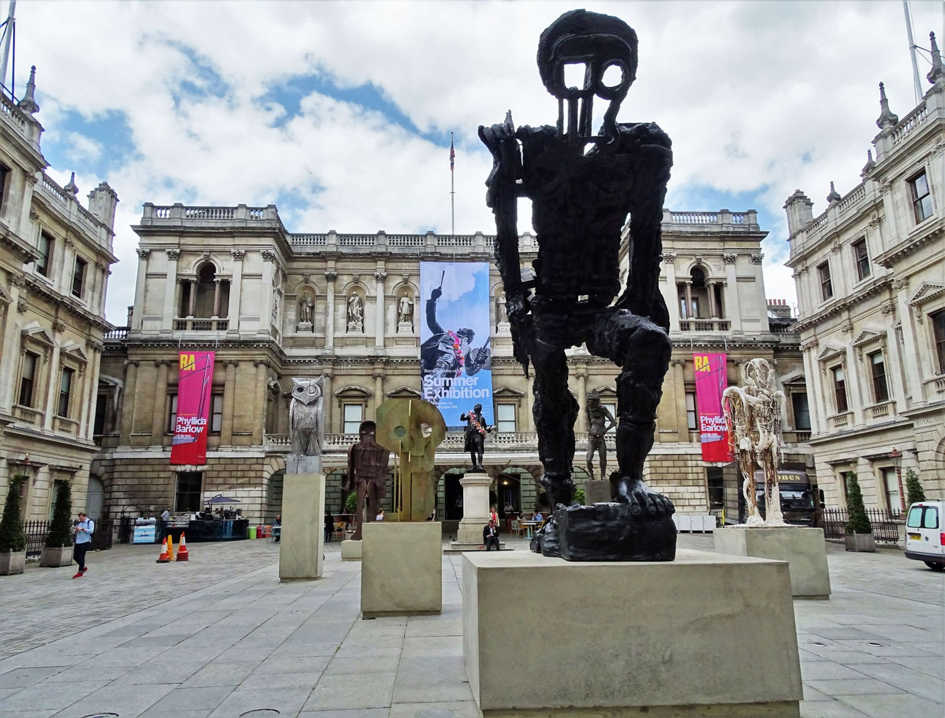 Works shown as part of the Summer Exhibition last year at the The Royal Academy of Arts in London © Neil Theasby