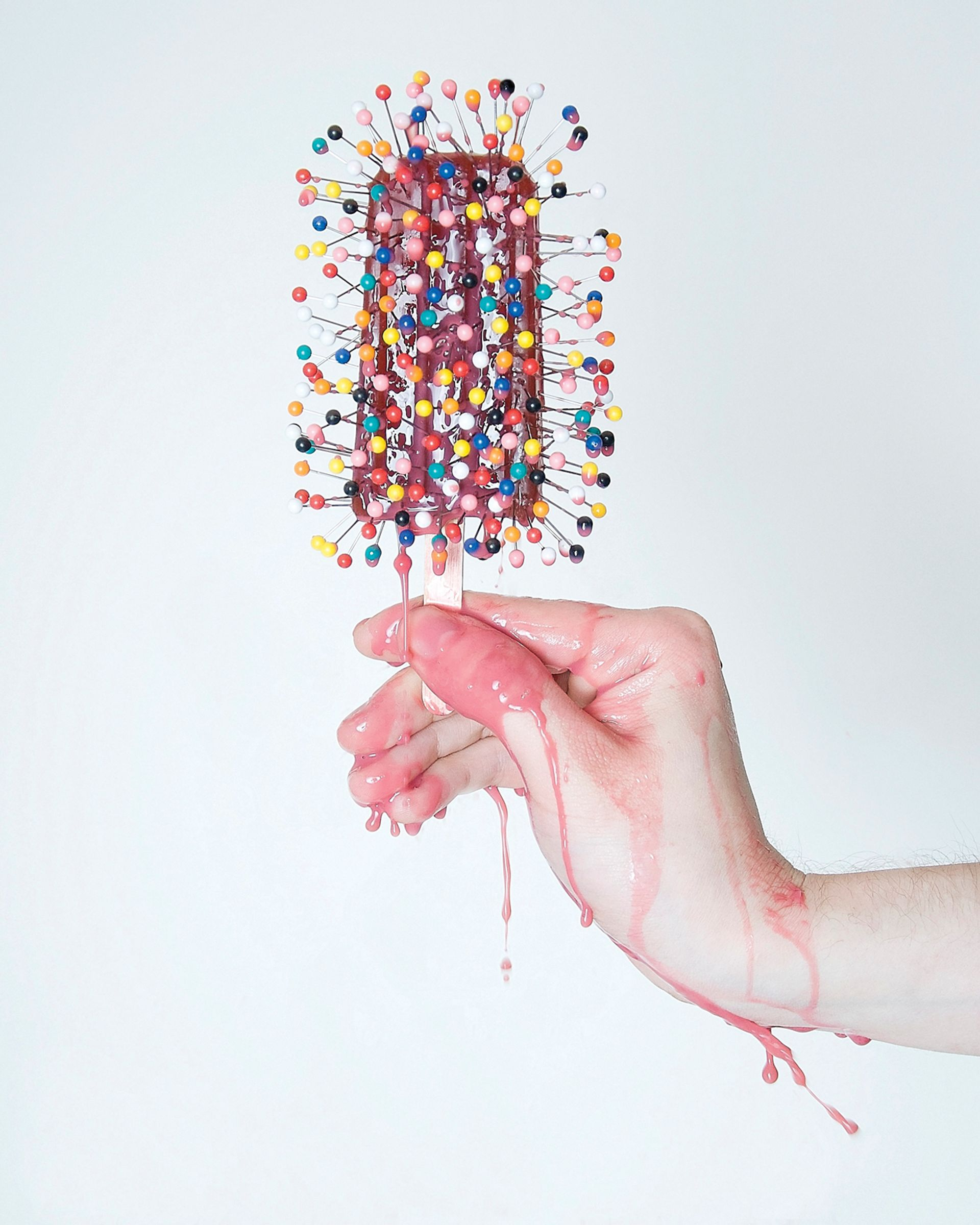 Olivia Locher's Another Day on Earth (Pincushion) (2012) © Olivia Locher
