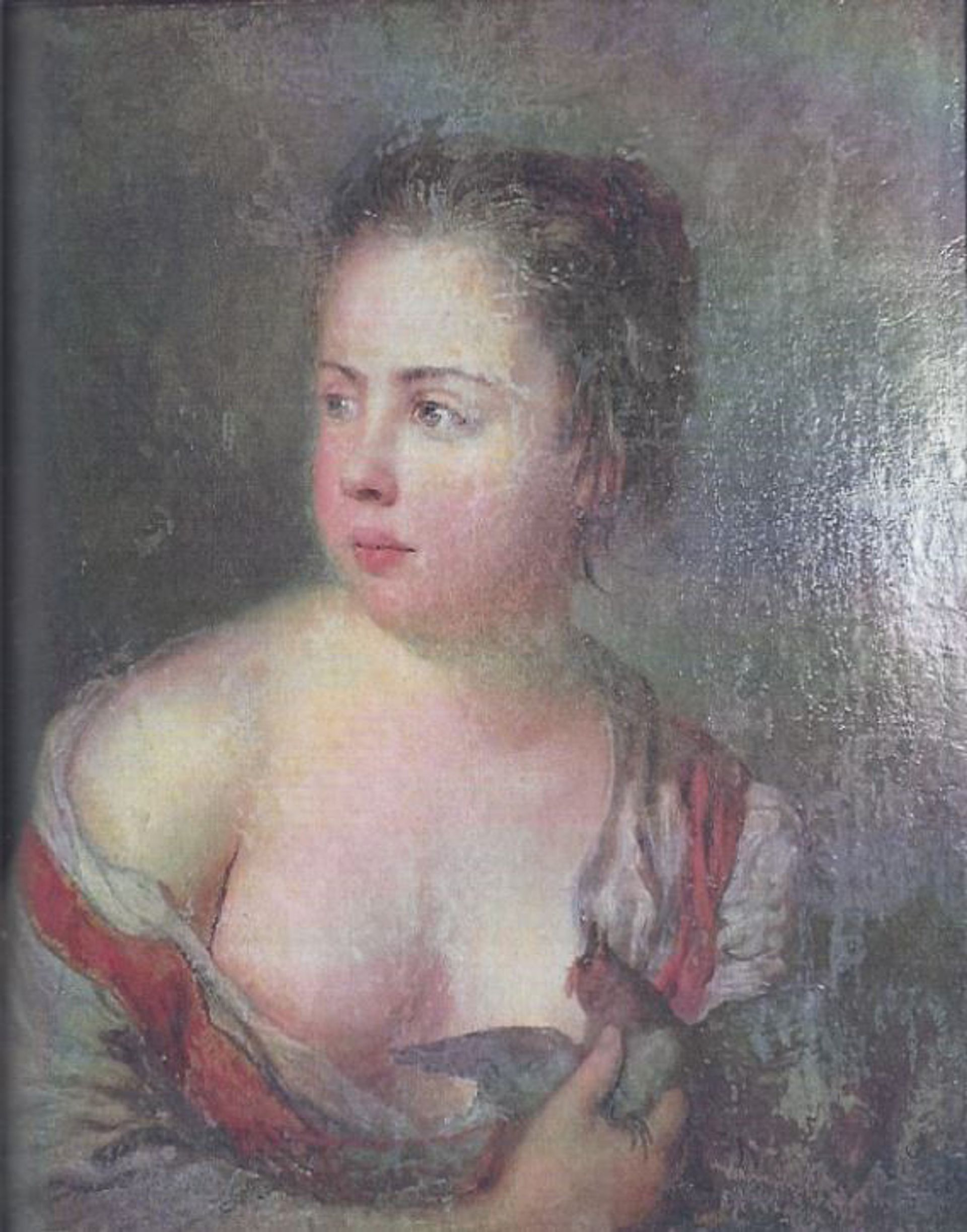 Girl with a Dove (1754) by Antoine Pesne, was seized in 1945 by Soviet soldiers from German troops who had taken it in 1943 from the National Museum in Poznan