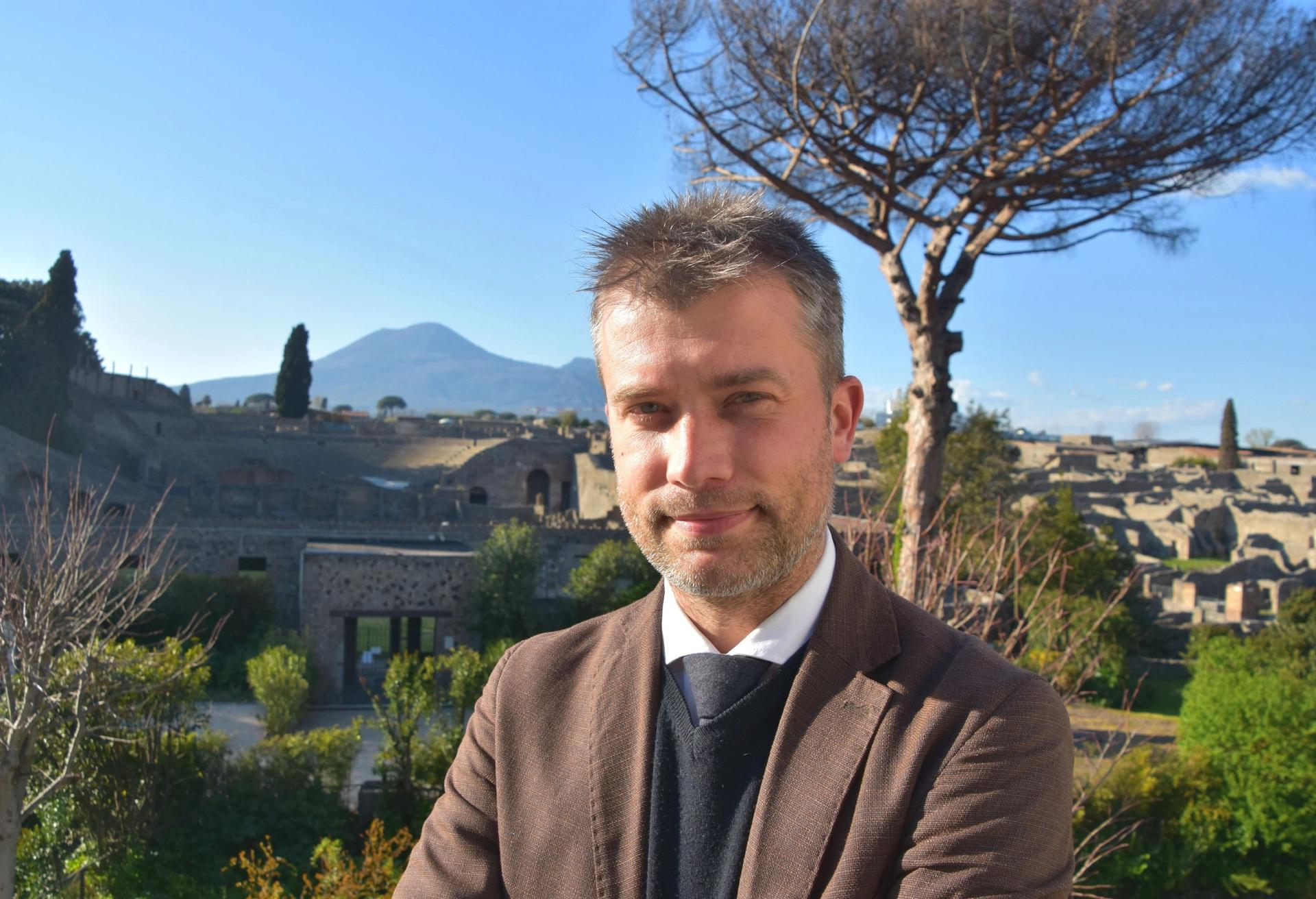 Gabriel Zuchtriegel, the new director of Pompeii archaeological park Photo: Parco Archeologico di Pompei
