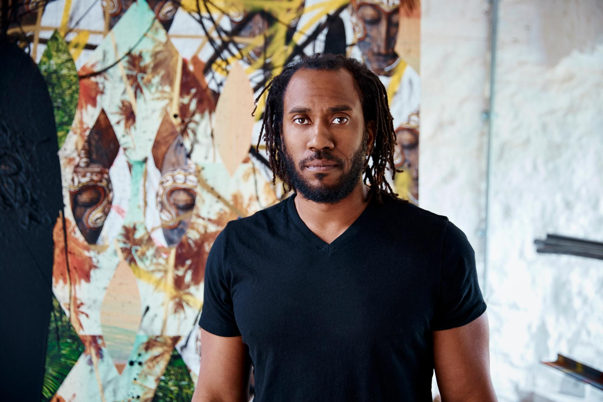 Rashid Johnson is one of seven artists elected a National Academician by the National Academy of Design, a prestigious nomination dating to the founding of the institution in 1825. Photo: Courtesy the artist and Hauser & Wirth.