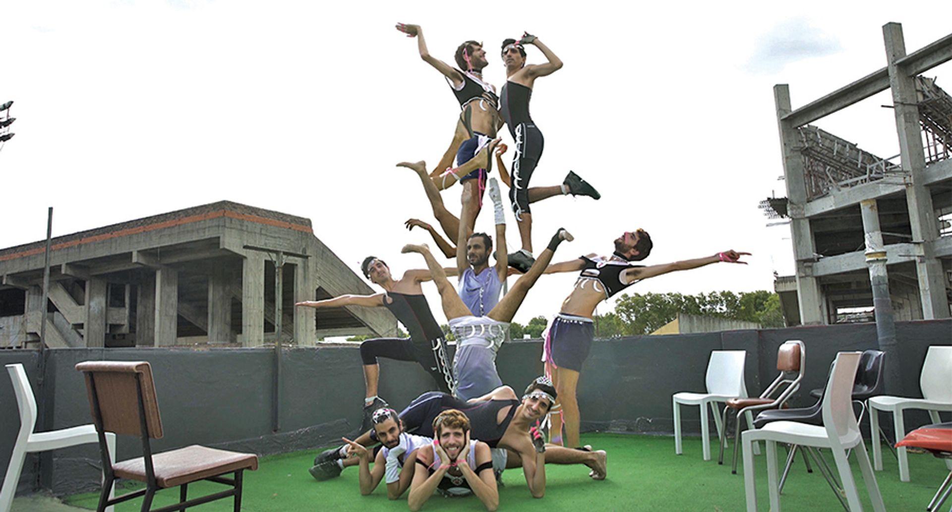 The Argentinian artist collective Básica TV features in a video at Nada Miami ©Un Estudios