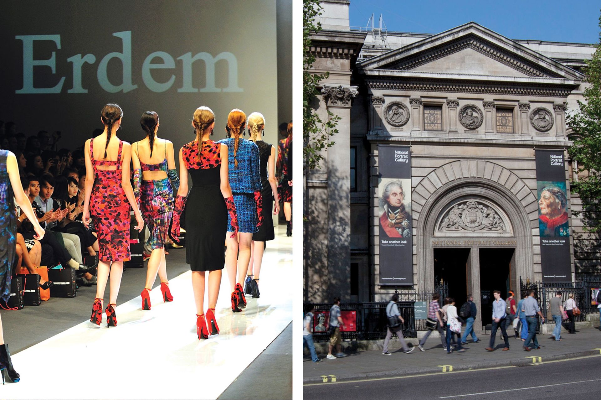 London's National Portrait Gallery will shut for a day to make way for Erdem's fashion show Jordan Tan and National Portrait Gallery
