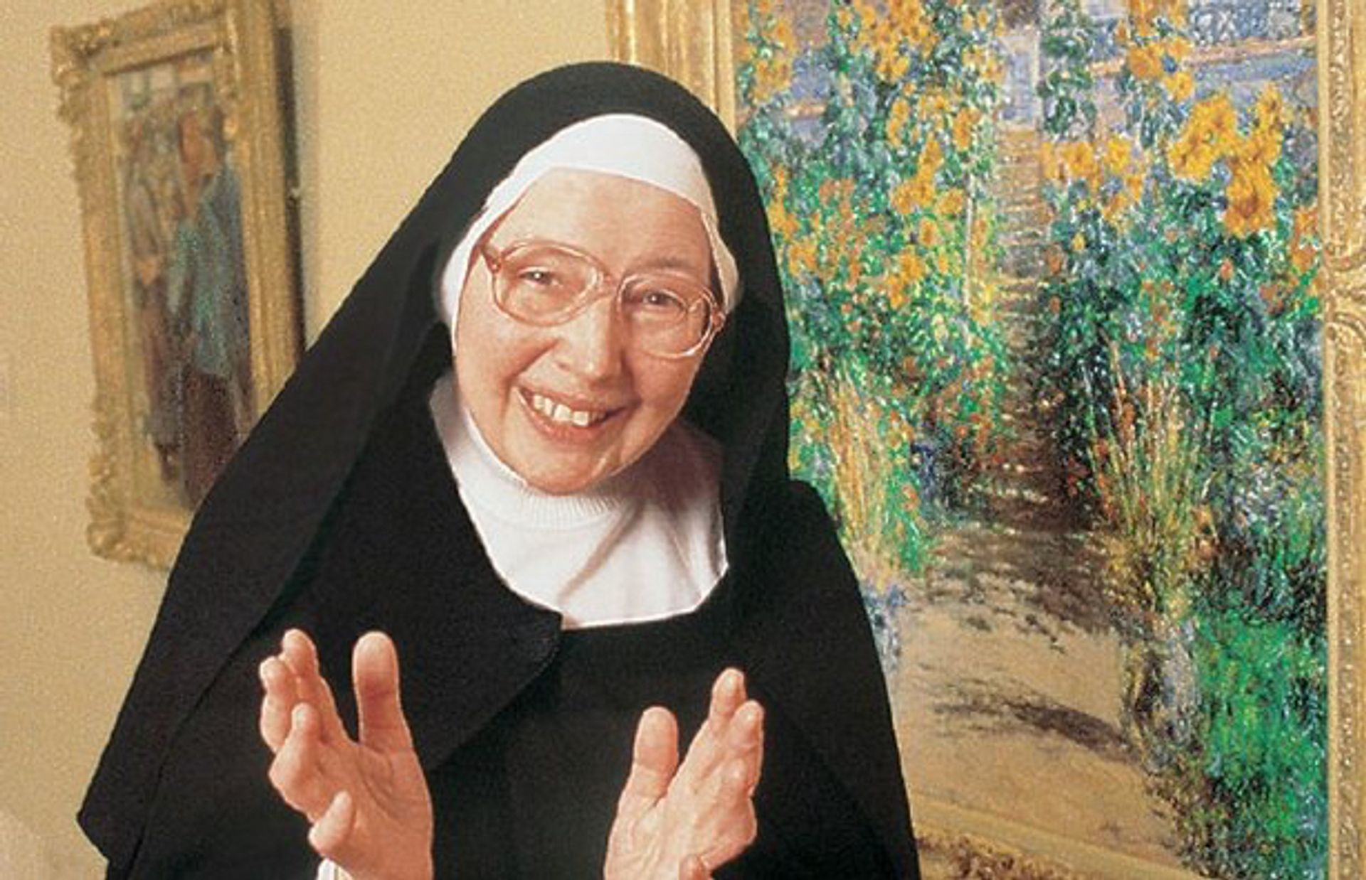 Sister Wendy Beckett Courtesy American Public Television