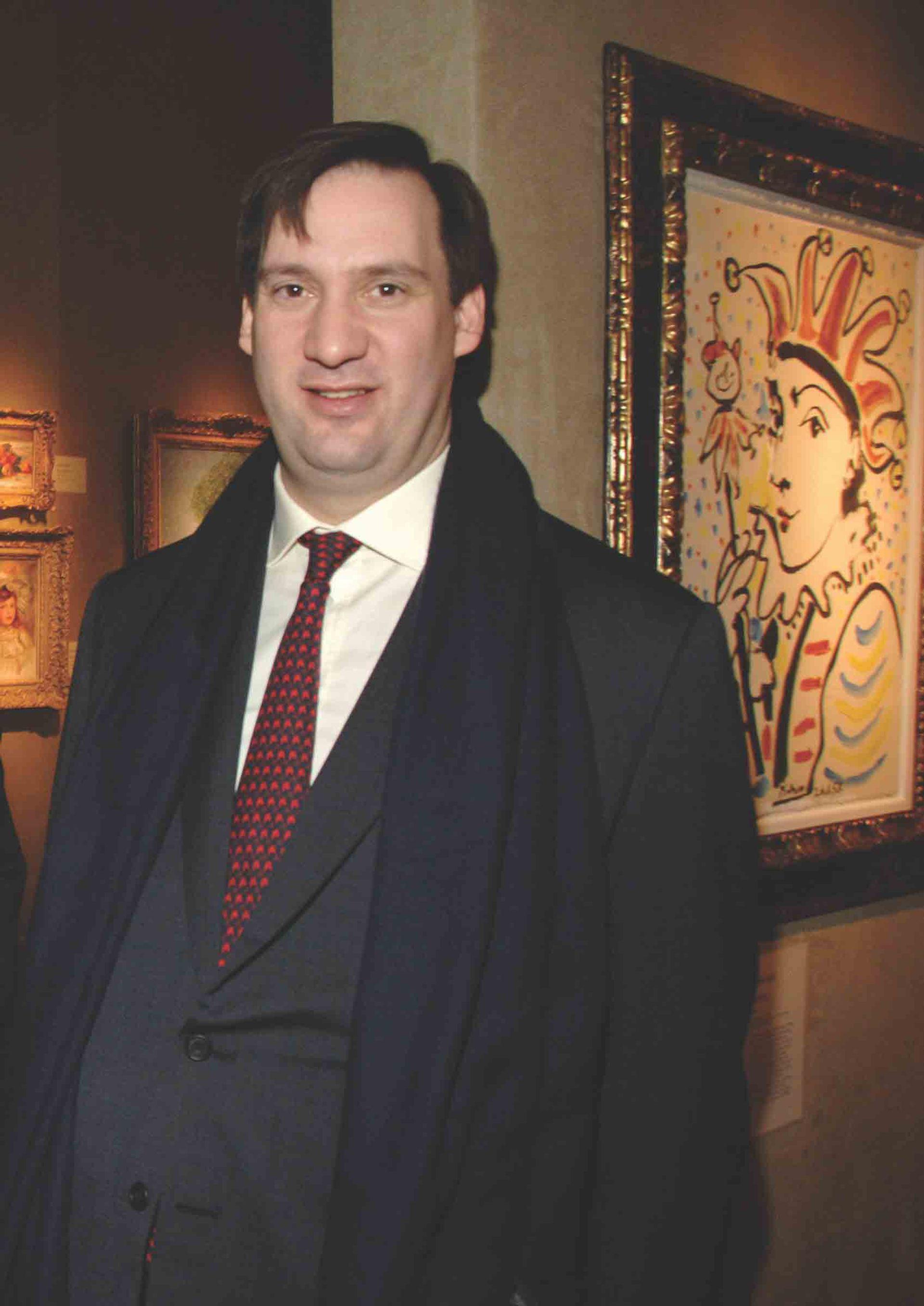 Matthew Green, Owner of Mayfair Fine Art Limited. © Patrick McMullan