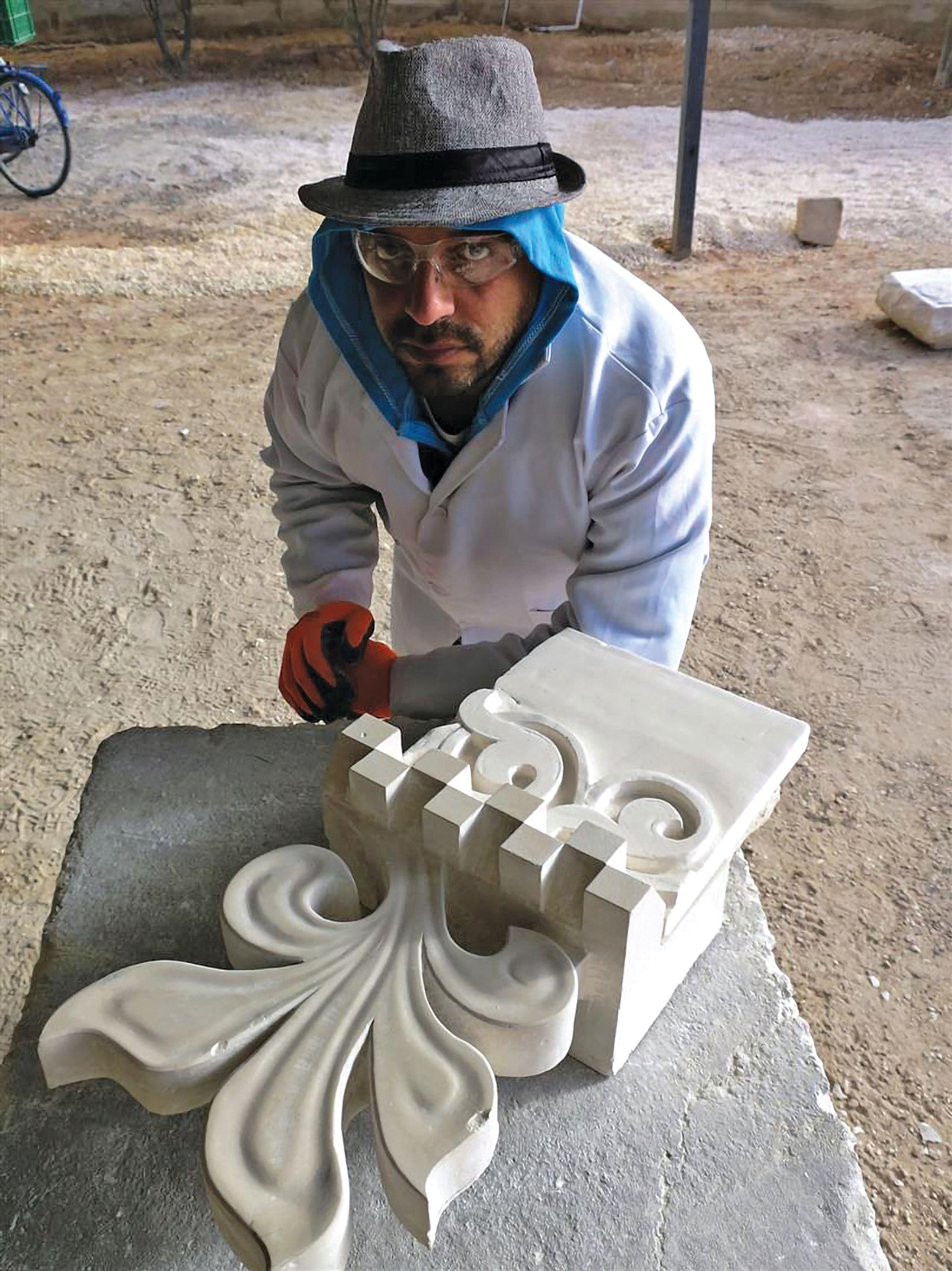 The World Monuments Fund has opened a centre in Jordan that trains refugees in conservation stonemasonry