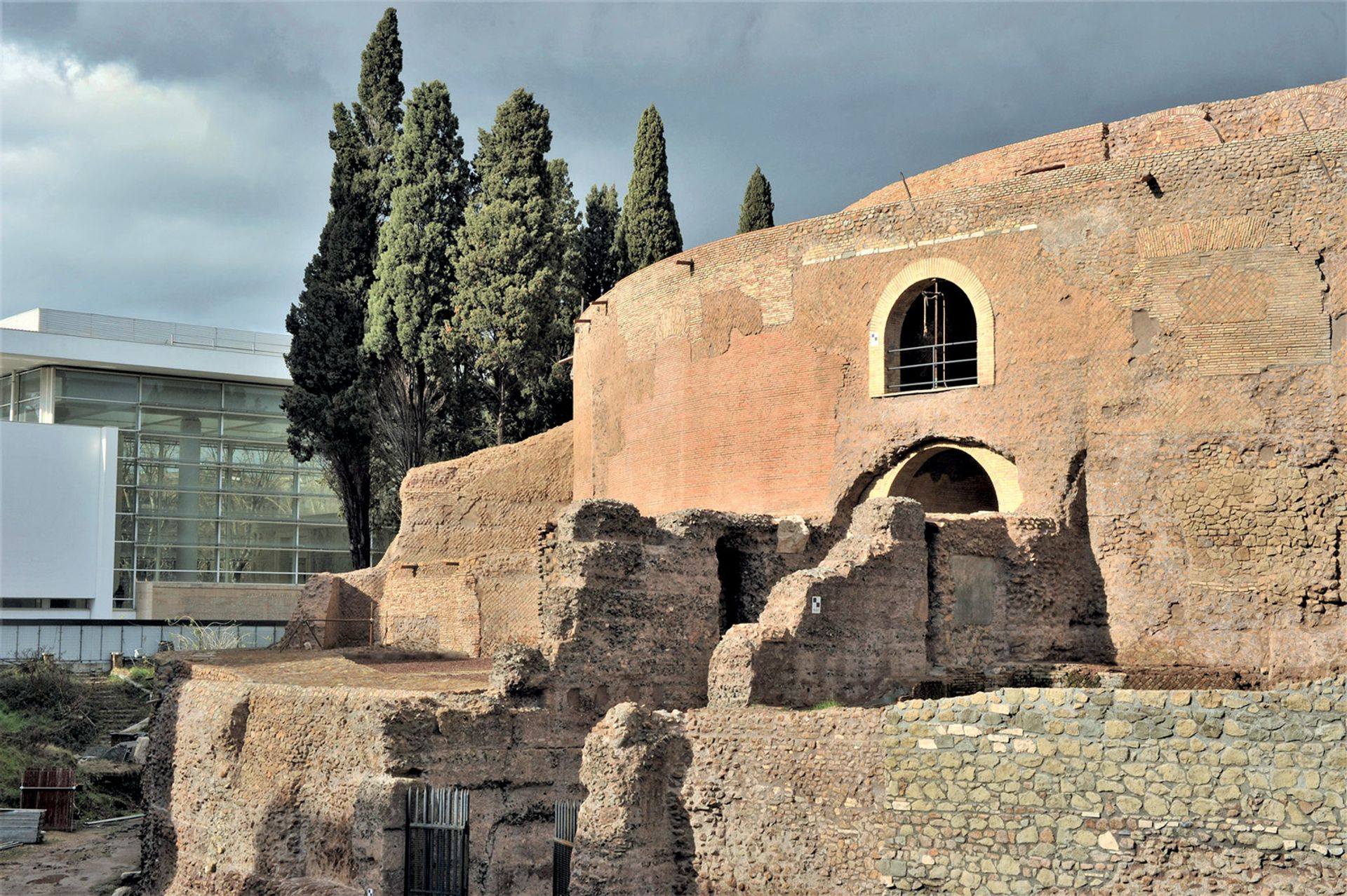 Mussolini had his eye on the 28BC mausoleum as his final resting place. Abandoned for decades after the Second World War, the Rome landmark reopened to the public on 1 March Photo: Sovrintendenza Capitolina ai Beni Culturali - Roma Capitale