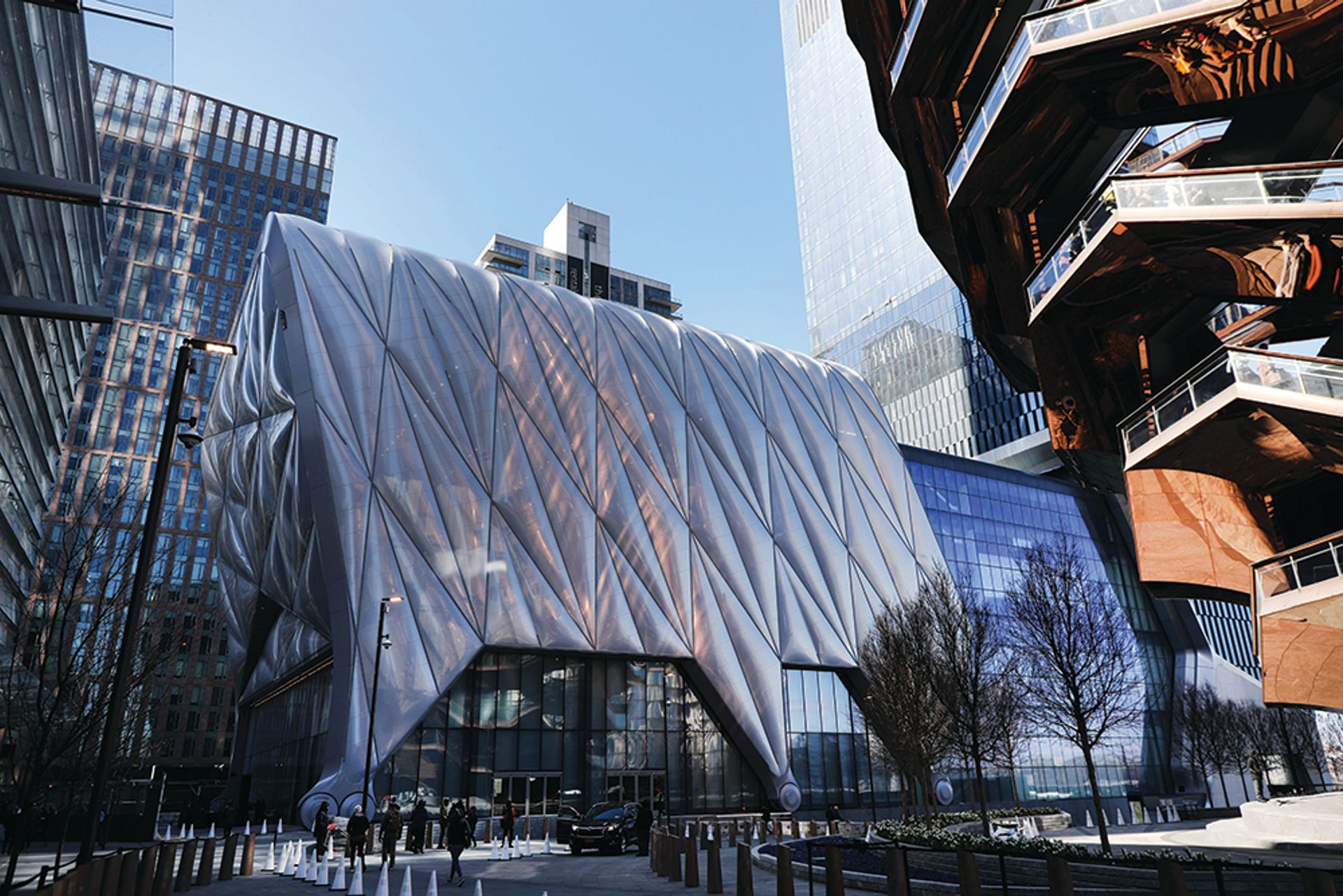 Hudson Yards' new $475m arts centre the Shed on Manhattan's west side attempts to be both popular and edgy Xinhua/ via Getty Images
