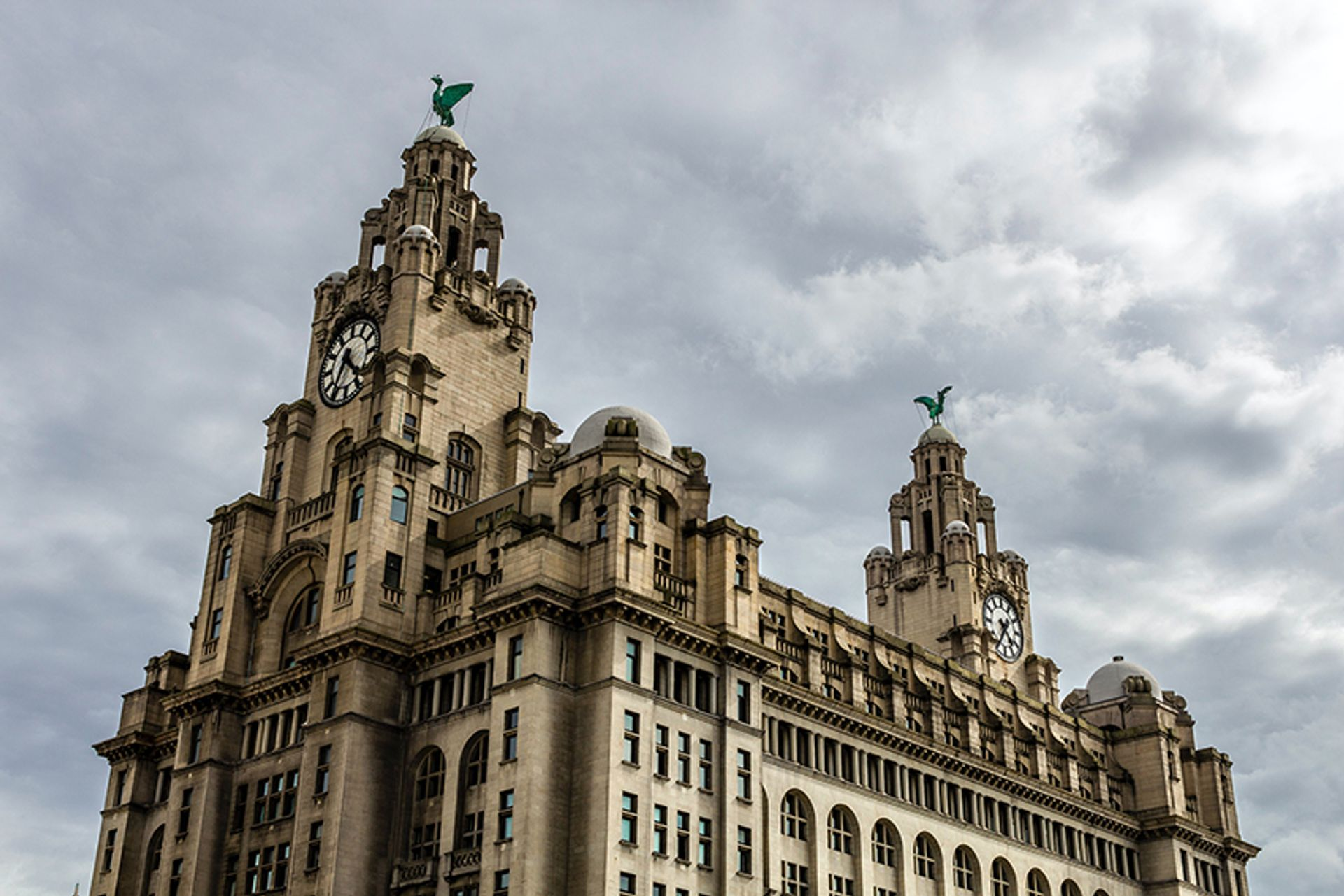 Walter Aubrey Thomas designed the Royal Liver Building in Liverpool © Neil Martin