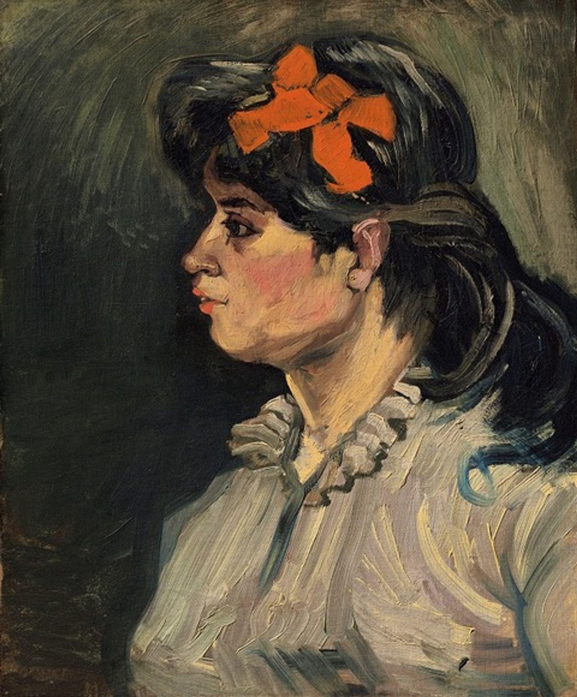 Vincent van Gogh, Portrait de femme: buste, profil gauche, (December 1885-January 1886) © Christie's Images Limited 2018
