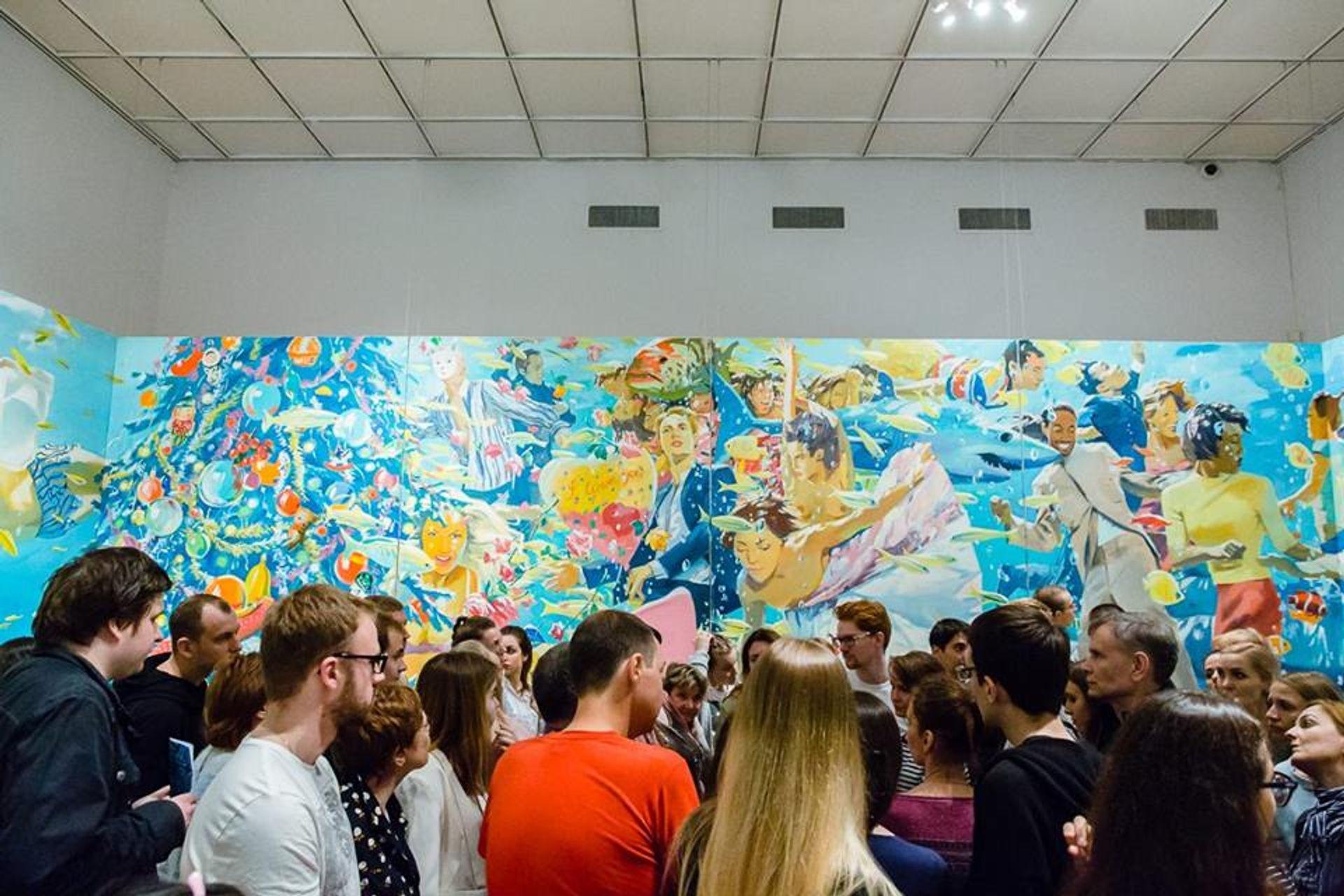 Visitors to the State Tretyakov Gallery State Tretyakov Gallery/Facebook