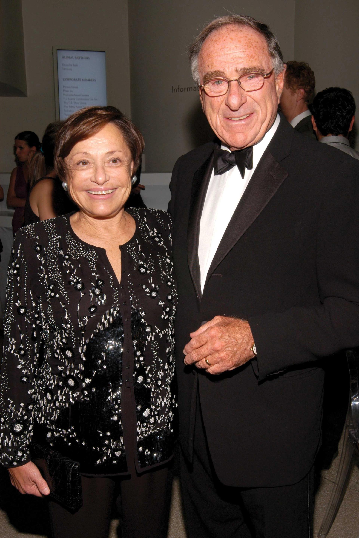 Linda and Harry Macklowe attending a Guggenheim International Gala in 2009 © Patrick McMullan