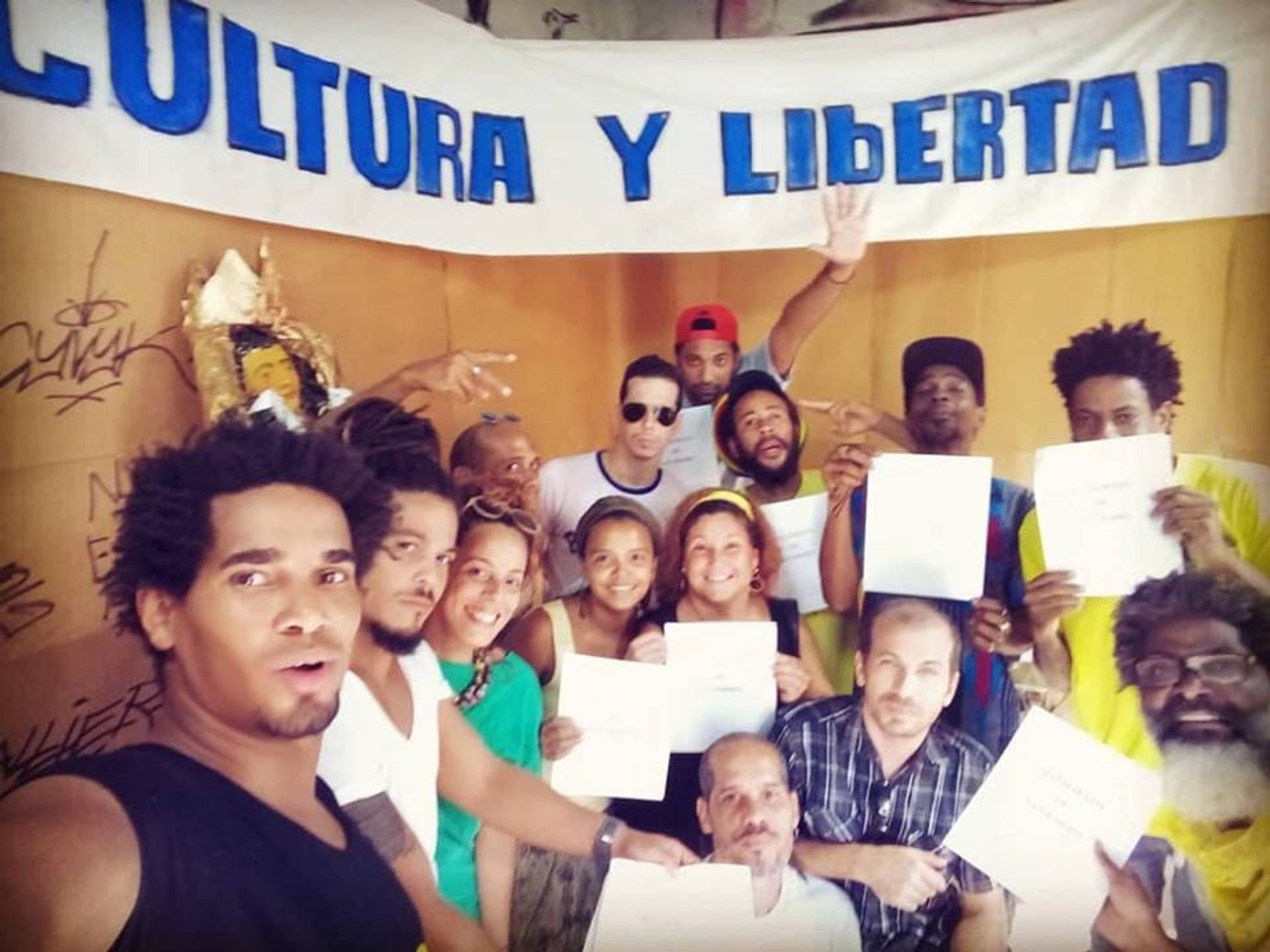Cuban artists protesting Decree 349 sent an open letter to the participants of the Havana Bienal asking them to act in solidarity against the law