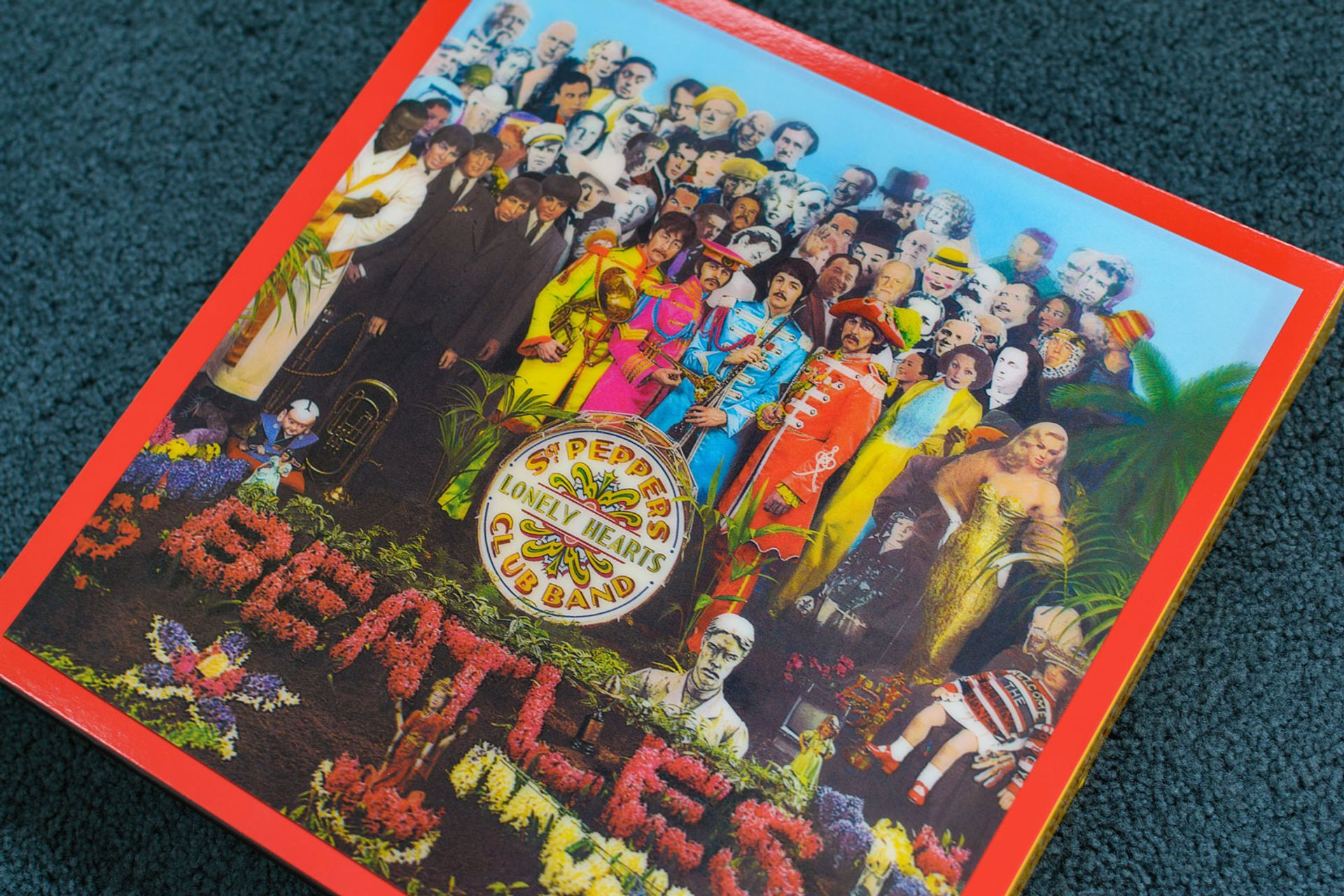 """The Beatles' Sgt Pepper's Lonely Hearts Club Band album the band's """"heroes"""""""