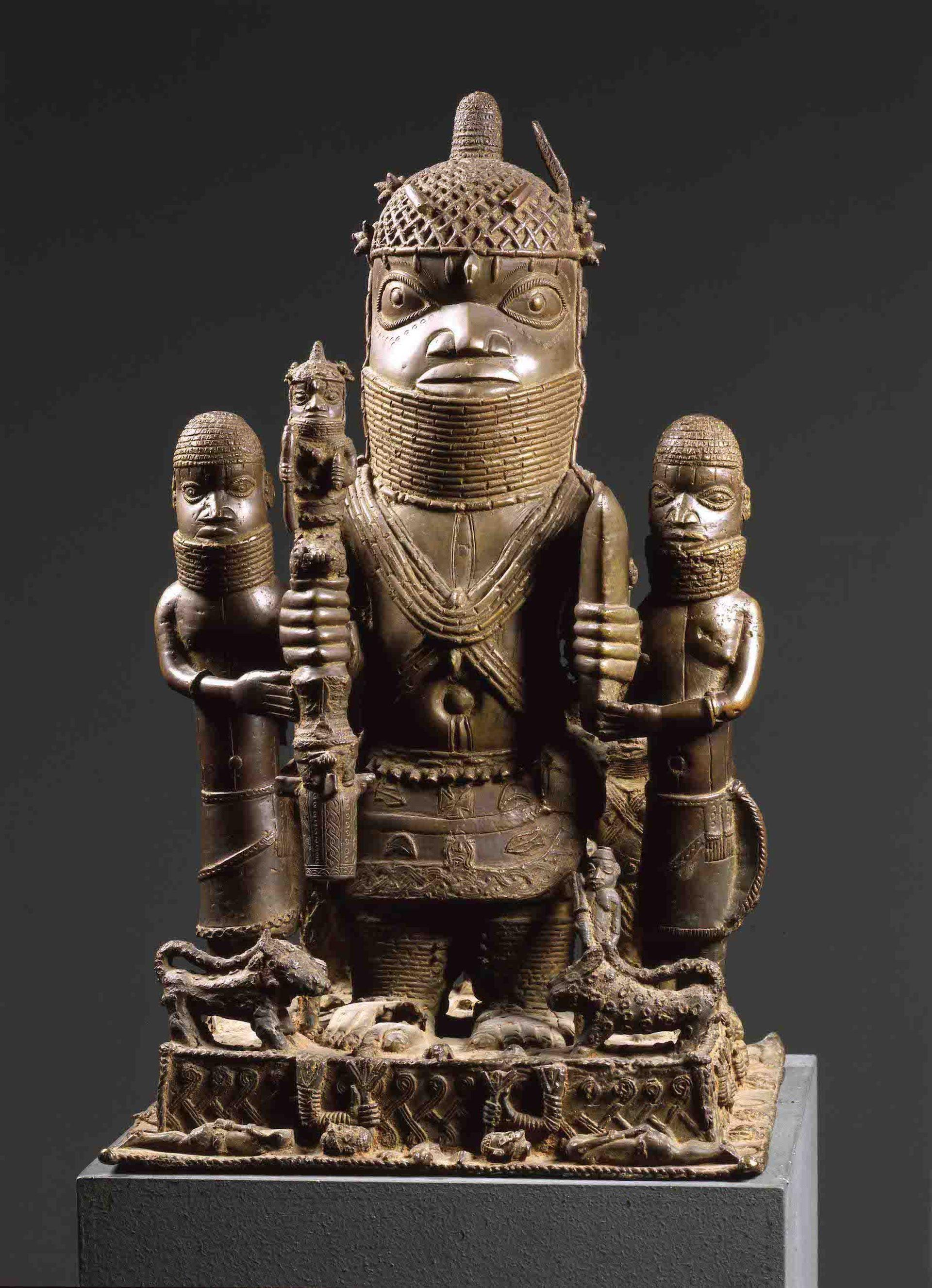 Benin bronzes are held by a number of European institutions, including Berlin's Ethnology Museum © Staatliche Museen Berlin; Ethnologisches Museum