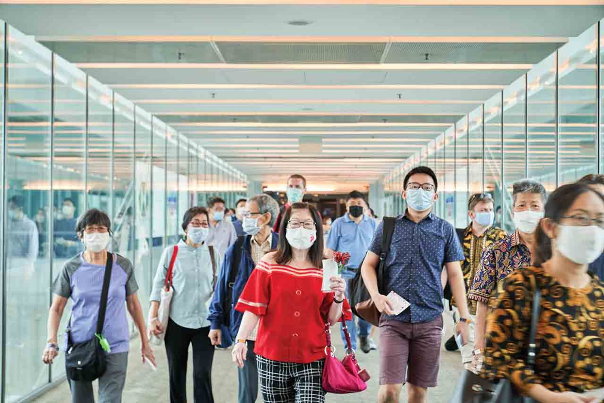 Singapore's borders are open only to residents and permit holders, subject to quarantine Lauryn Ishak/Bloomberg via Getty Images