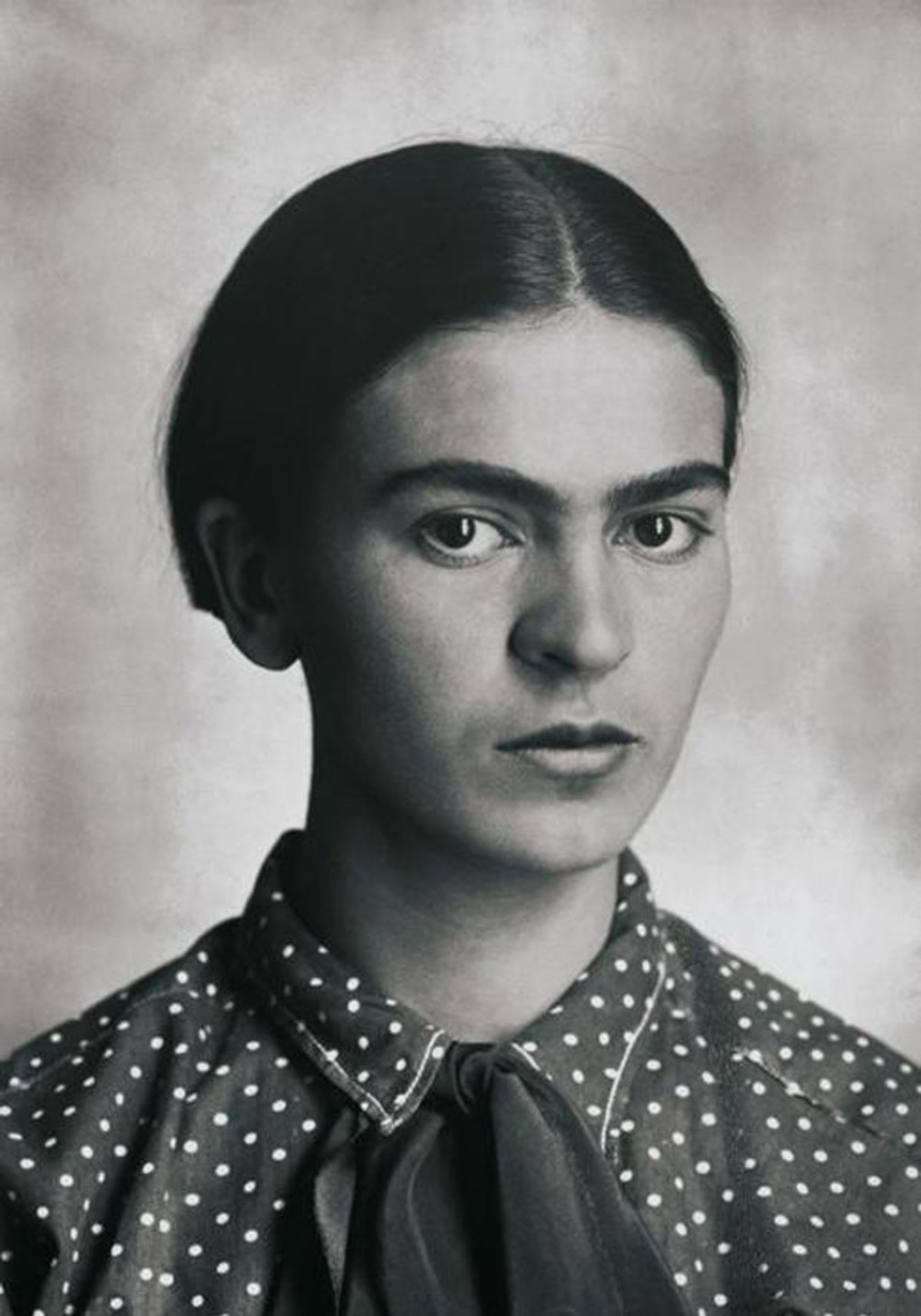 Frida Kahlo photographed by Guillermo Kahlo in 1926