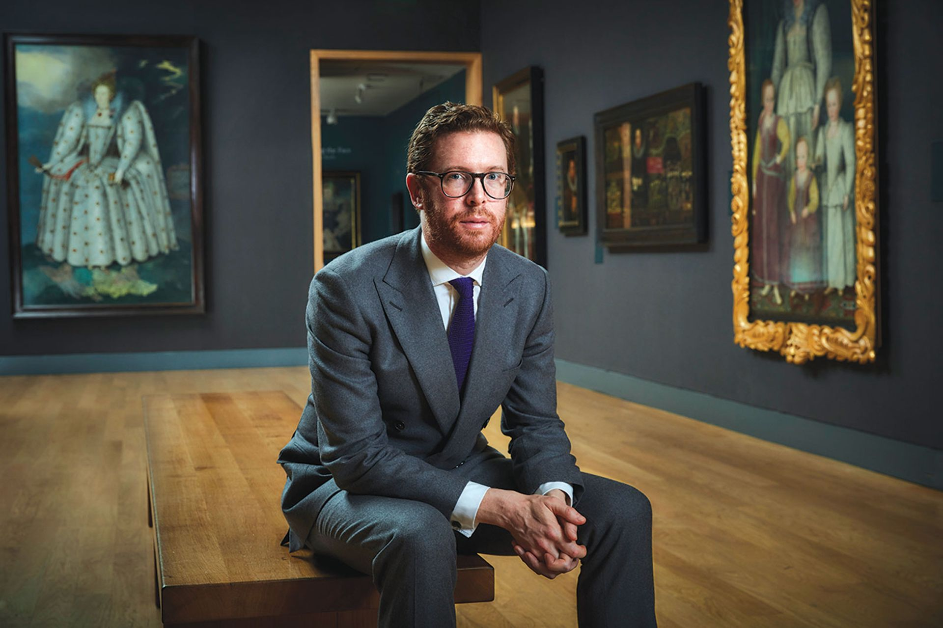 Nicholas Cullinan, the director of the National Portrait Gallery in London © Chris Floyd