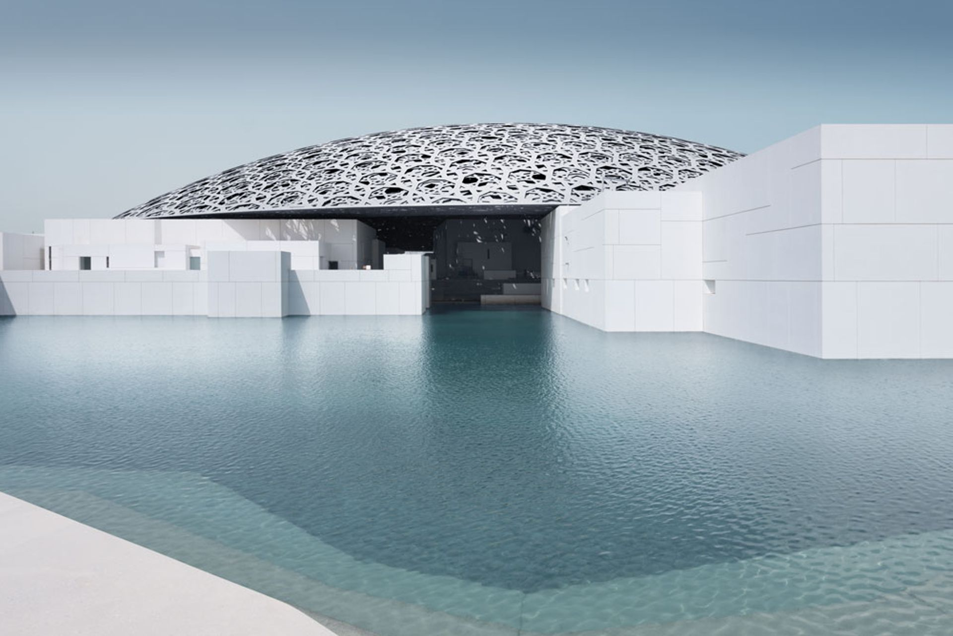 Jean Nouvel's Louvre Abu Dhabi was unveiled in November Louvre Abu Dhabi. Photo: Mohamed Somji