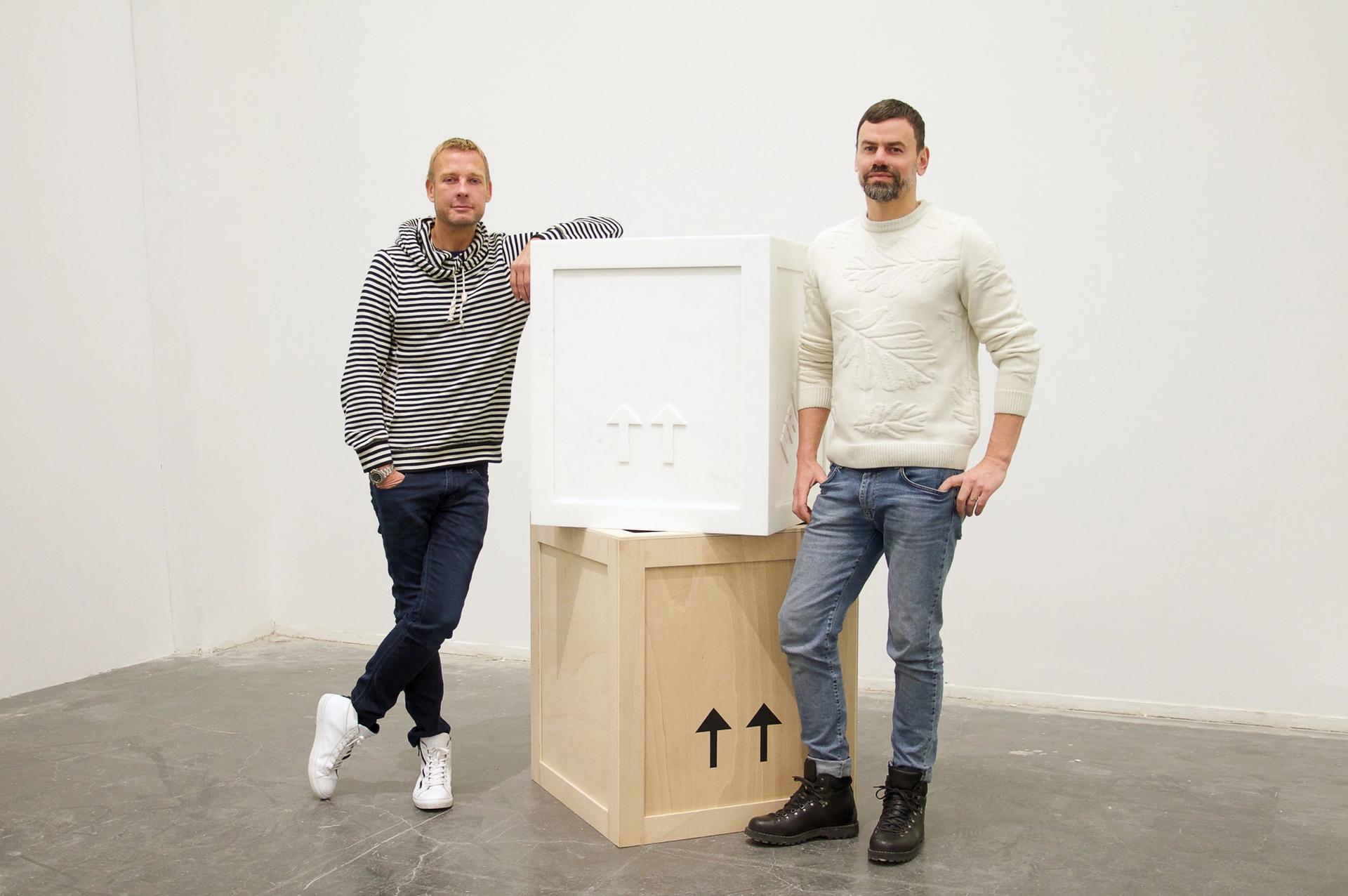 """Have a creative block? """"Just get drunk,"""" advise Elmgreen & Dragset Photo: Elmar Vestner"""