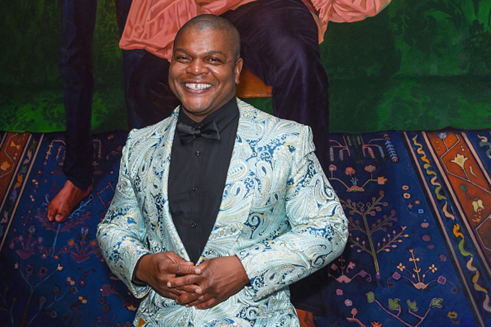 Kehinde Wiley Presley Ann/Patrick McMullan via Getty Images