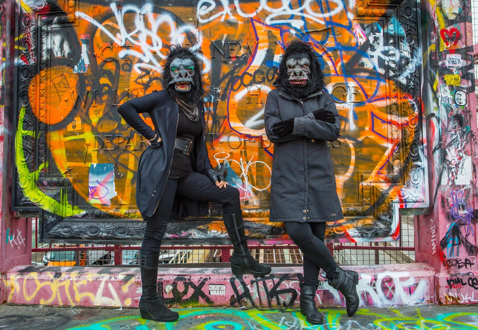 The Guerrilla Girls are bringing their feminist message to a billboard near you this summer Courtesy of the artists