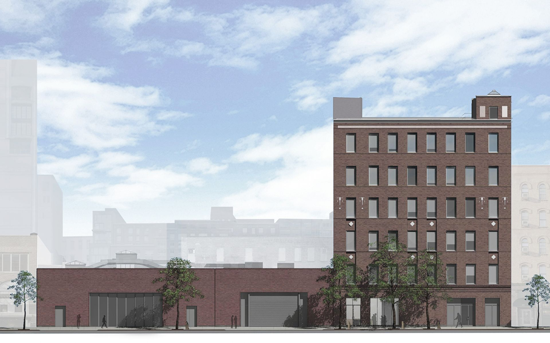 A rendering of Dia Chelsea on West 22nd Street between Tenth and 11th Avenues Courtesy of Dia Art Foundation