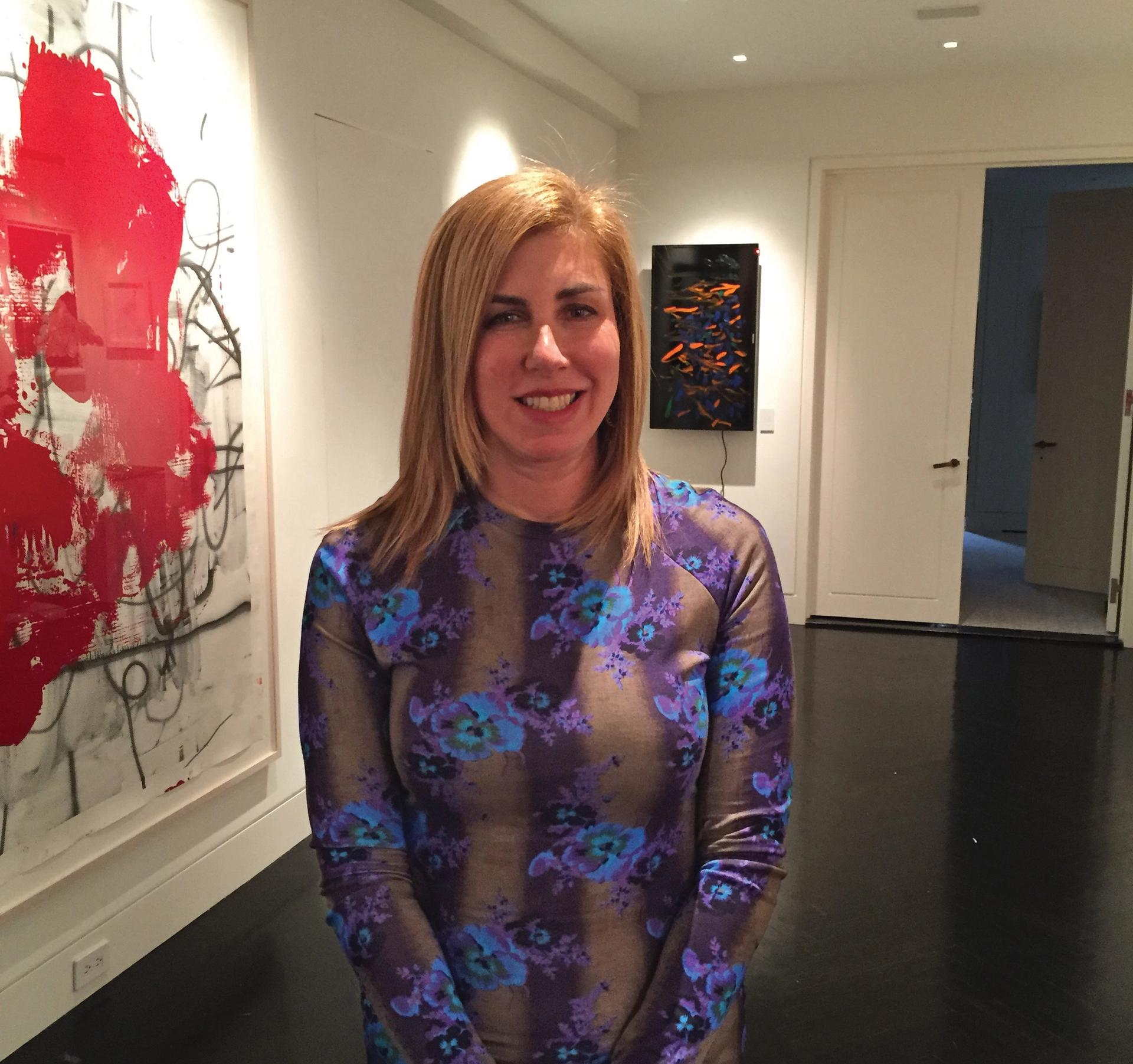 """Collector Candace Carmel Barasch thinks of art as """"the great philosopher"""" Courtesy of Candace Carmel Barasch"""