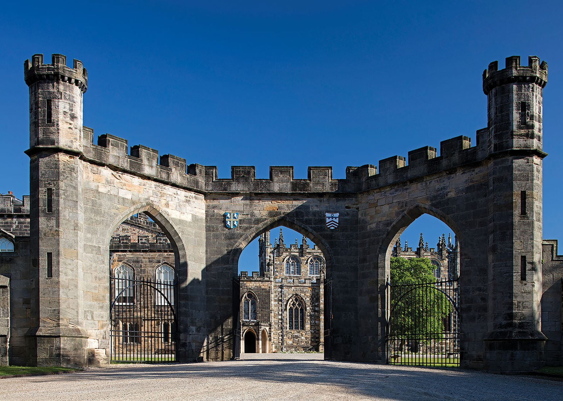 Wyatt Arch at Auckland Castle in Bishop Auckland photo: Graeme Peacock; courtesy of the Auckland Project