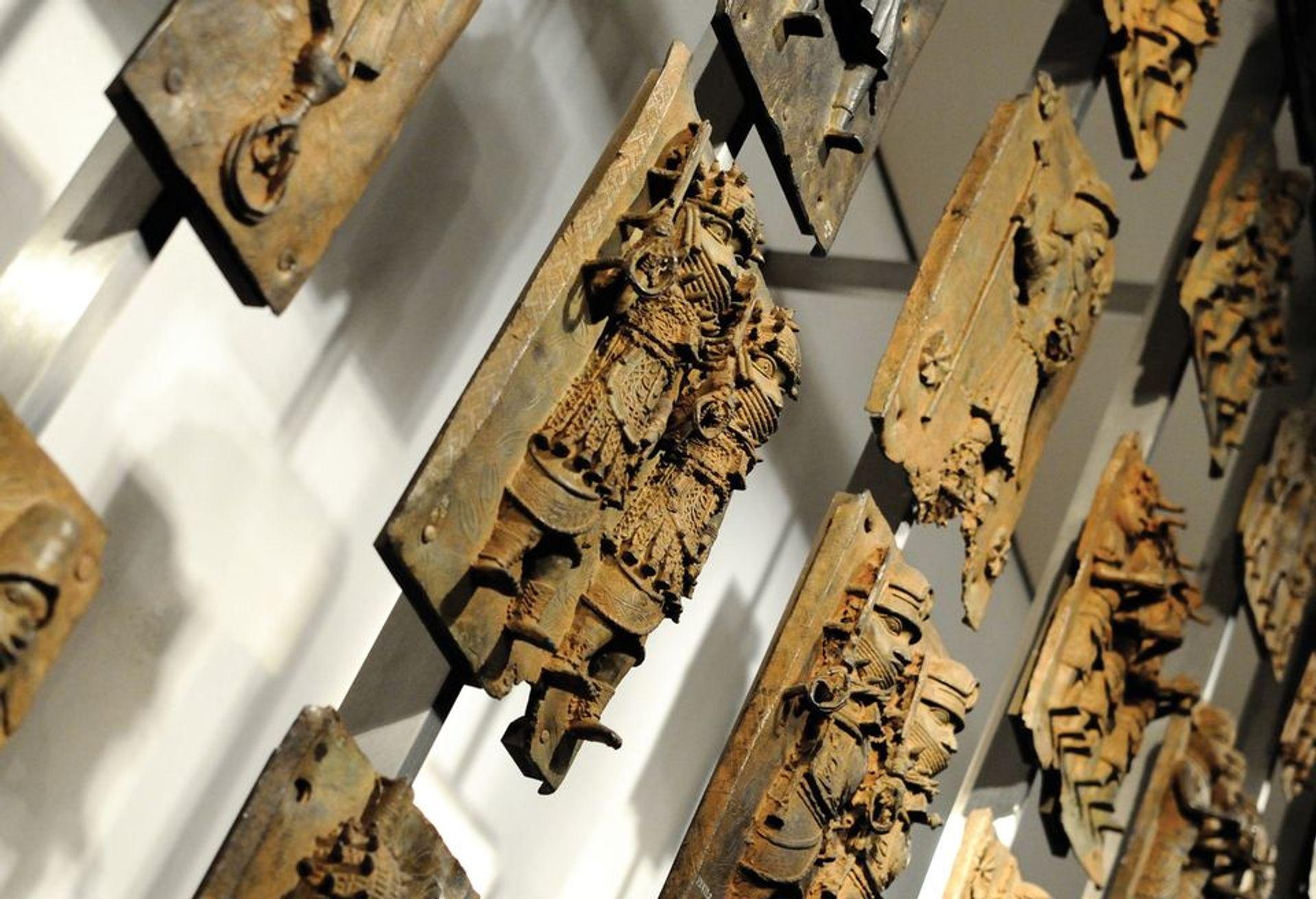 The Benin Bronzes at the British Museum © British Museum