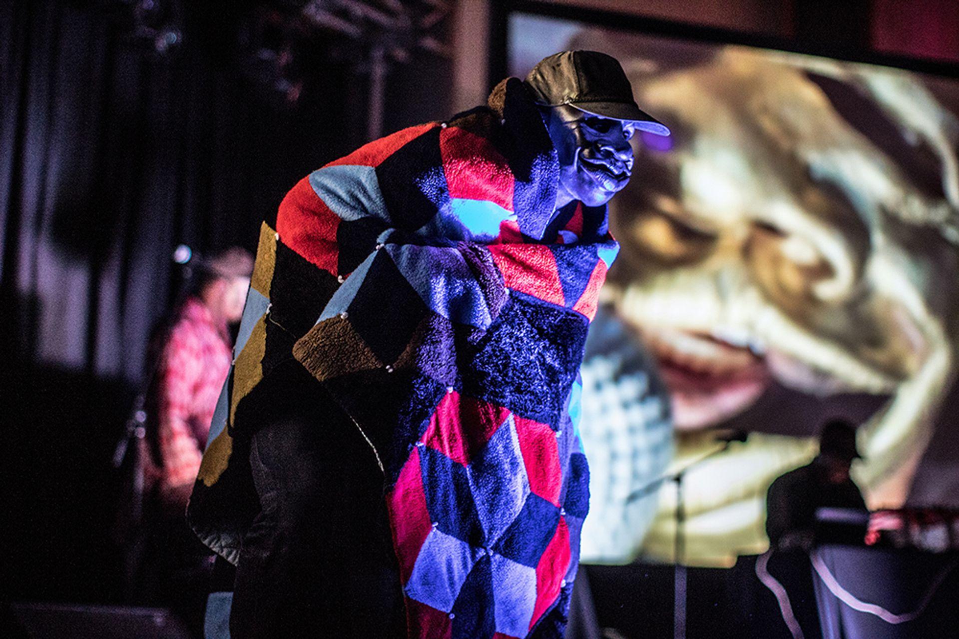 Moon Medicin's performance Un-Televised Revolutions