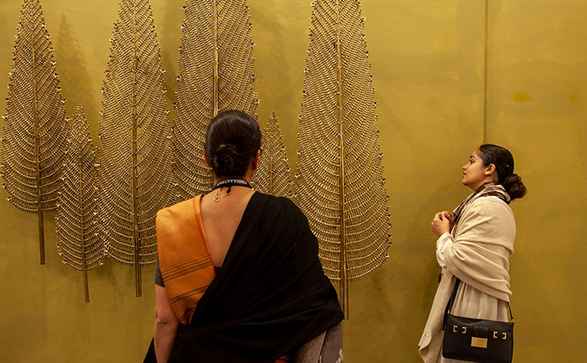 Chinar by Delhi Crafts Council, shown at India Art Fair 2020 in New Delhi Courtesy of India Art Fair. Photo: Jeetin Sharma
